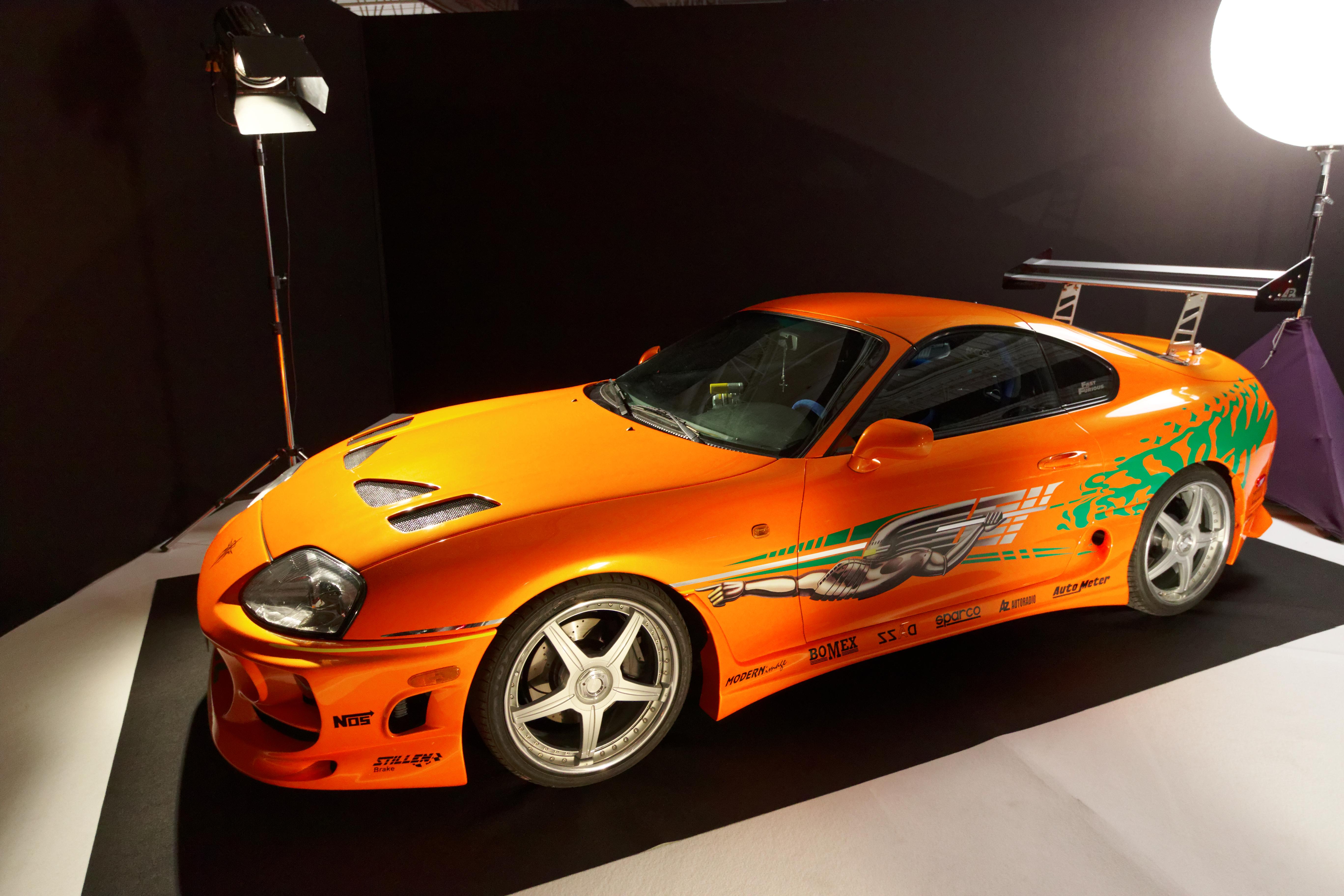 2016 Toyota Supra >> File Toyota Supra 1994 Mondial De L Automobile De Paris 2016 002