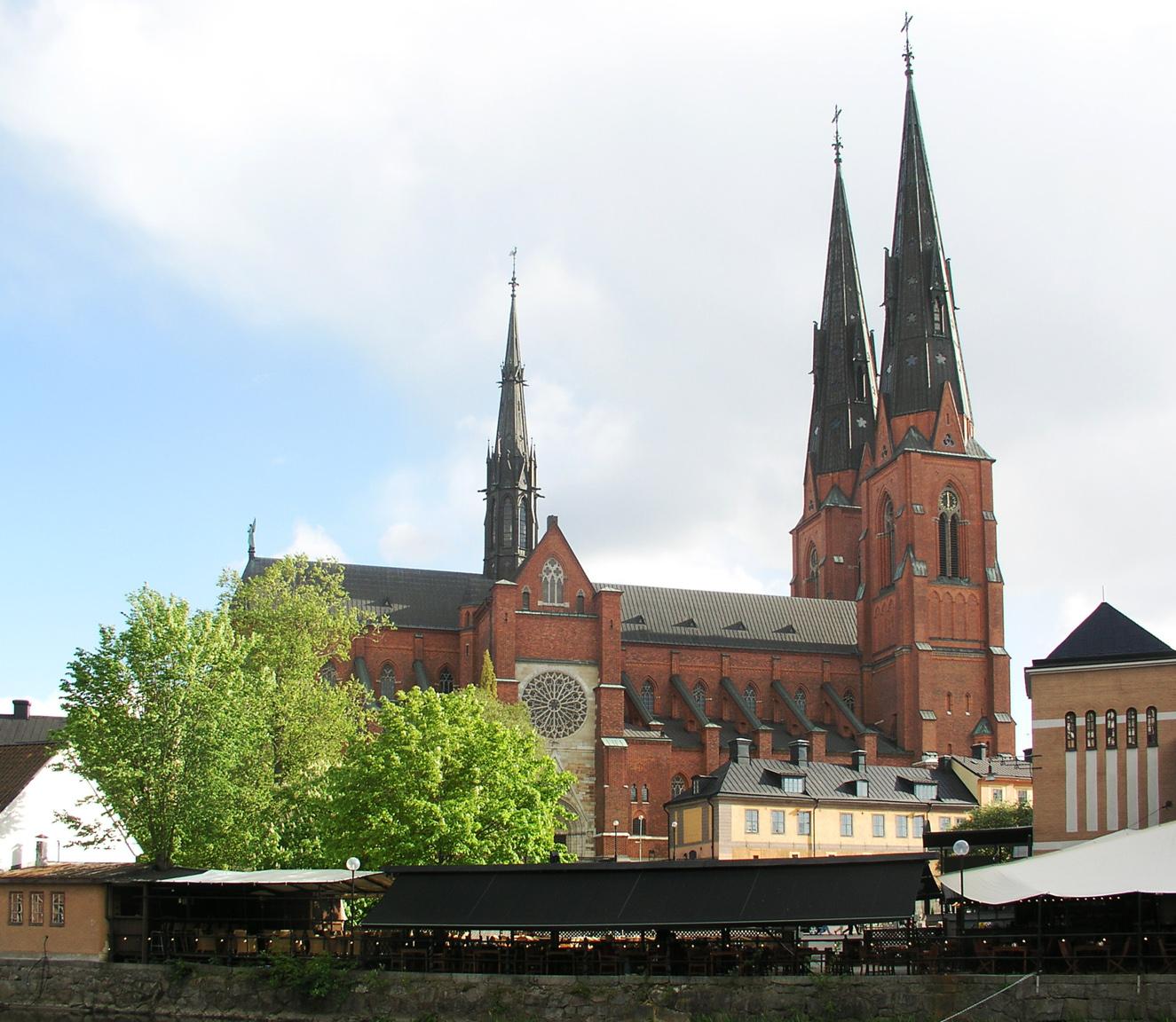 Uppsala Domkyrka Fileuppsala Viewsml
