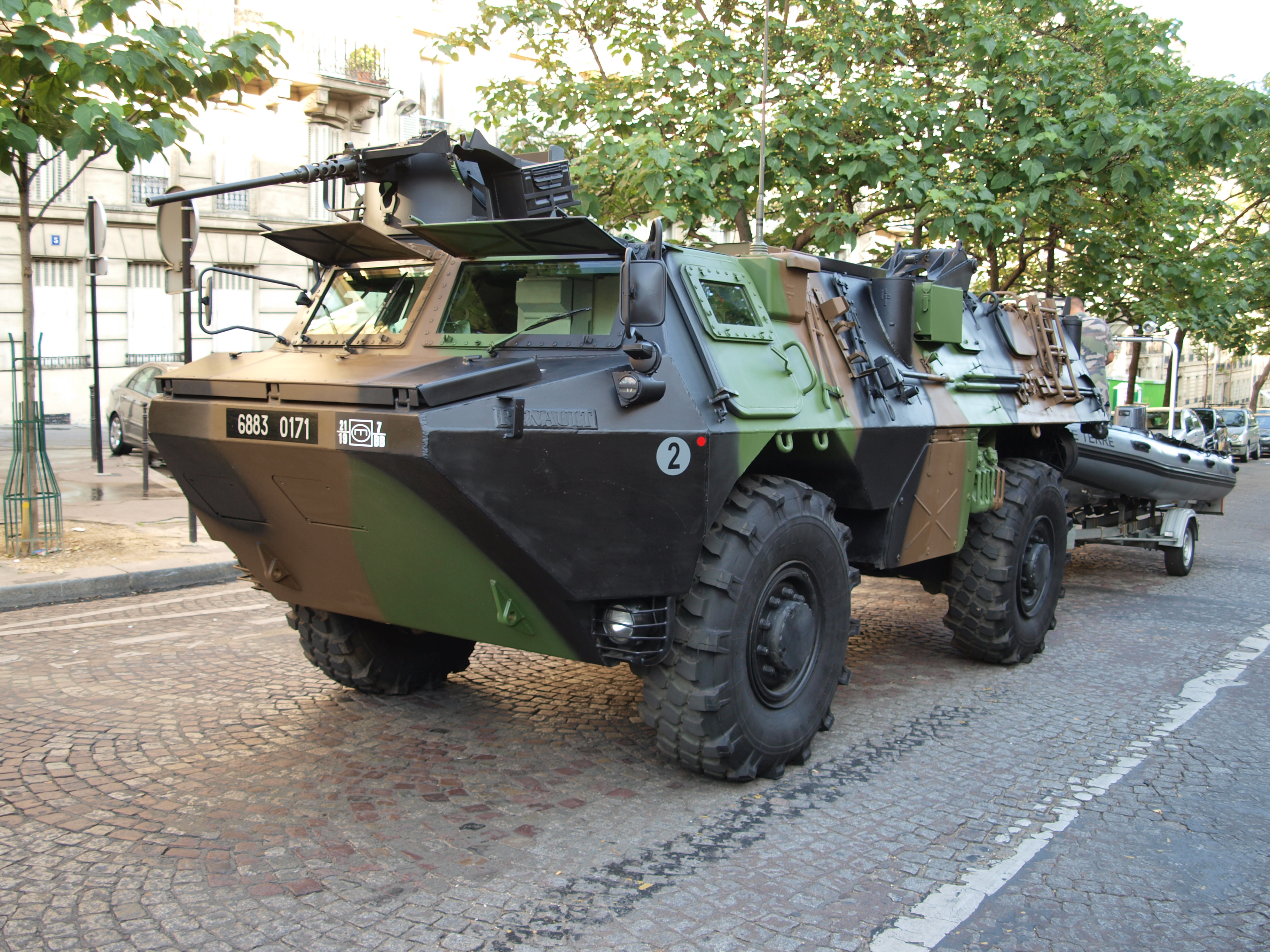 File V 233 Hicule De L Avant Blind 233 Vab 4x4 Army Licence