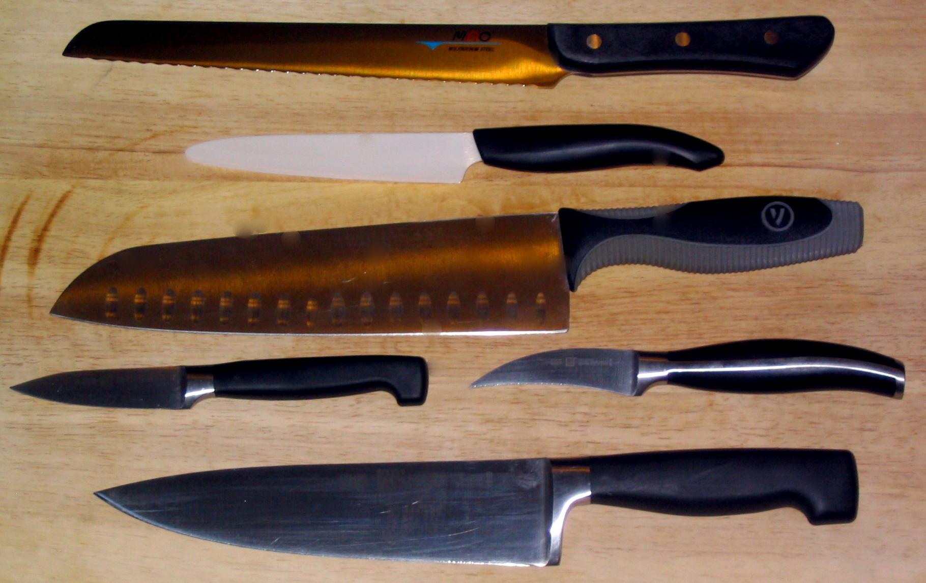 File Various Cooking Knives Kyocera Henckels Mac