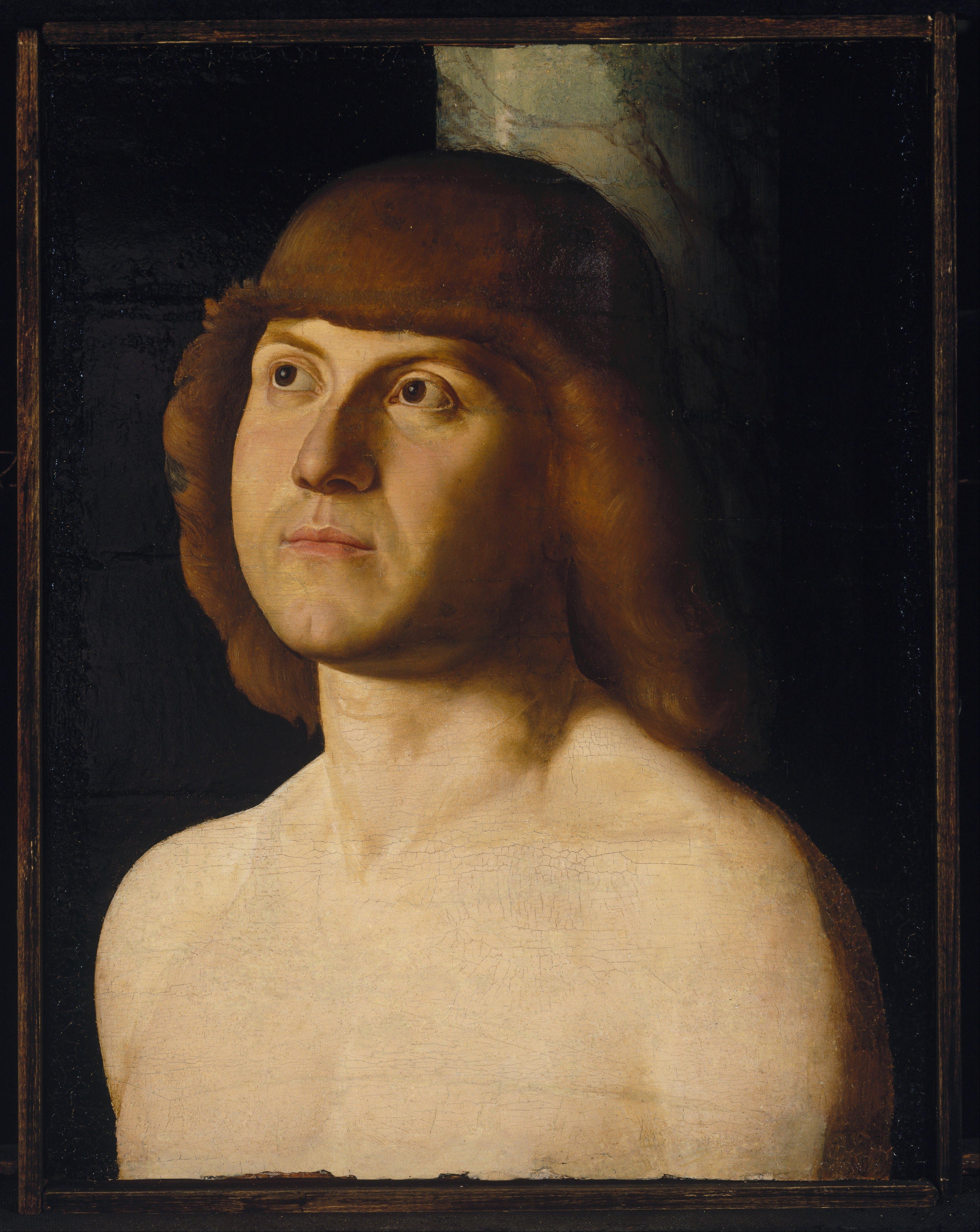 Antonello da Messina st Sebastian of Antonello da Messina