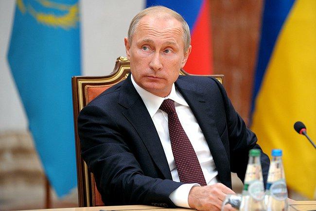 Wladimir Putin in Minsk