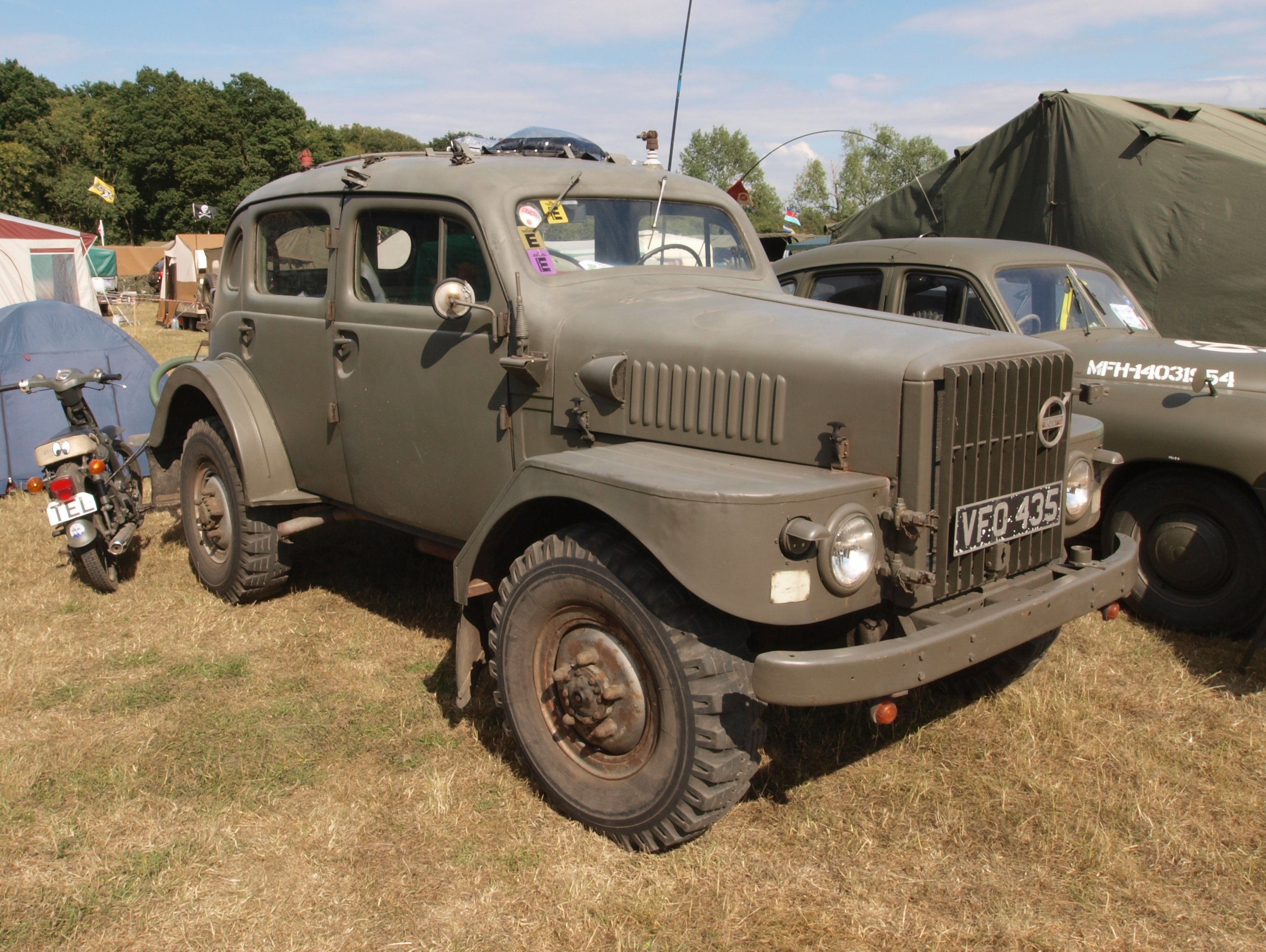 File Volvo Sugga Command Car 1954 Owned By Martin Heath