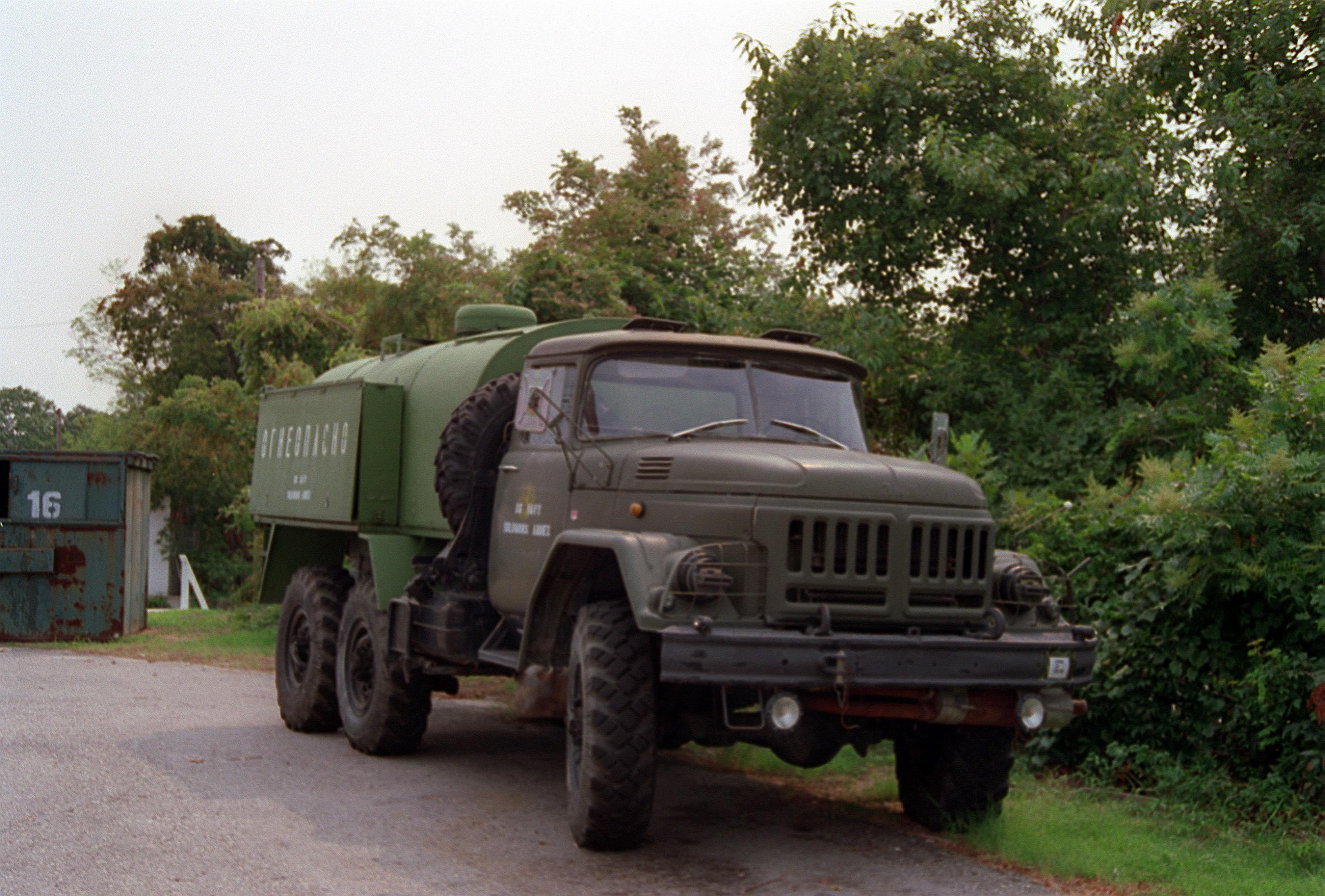 File Zil 131 Fuel Truck Jpeg Wikimedia Commons