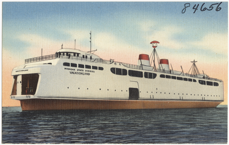 Mackinaw City Car Ferry