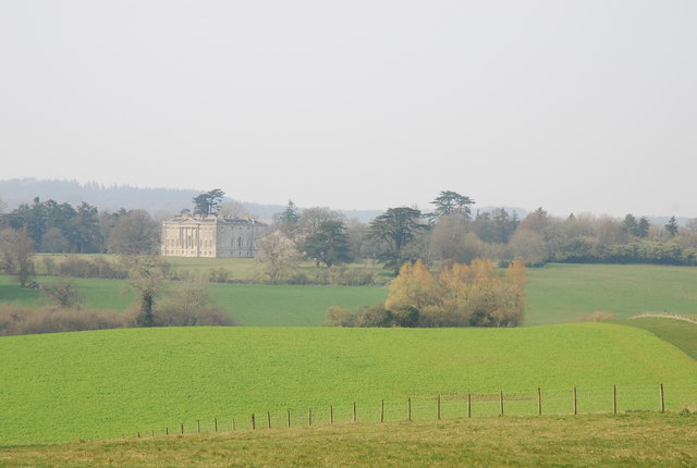 (New) Wardour Castle from South Hill Copse - geograph.org.uk - 383514