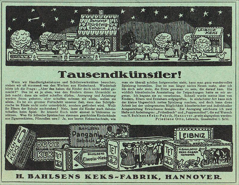 file 1913 circa werbung h bahlsens keks fabrik hannover. Black Bedroom Furniture Sets. Home Design Ideas