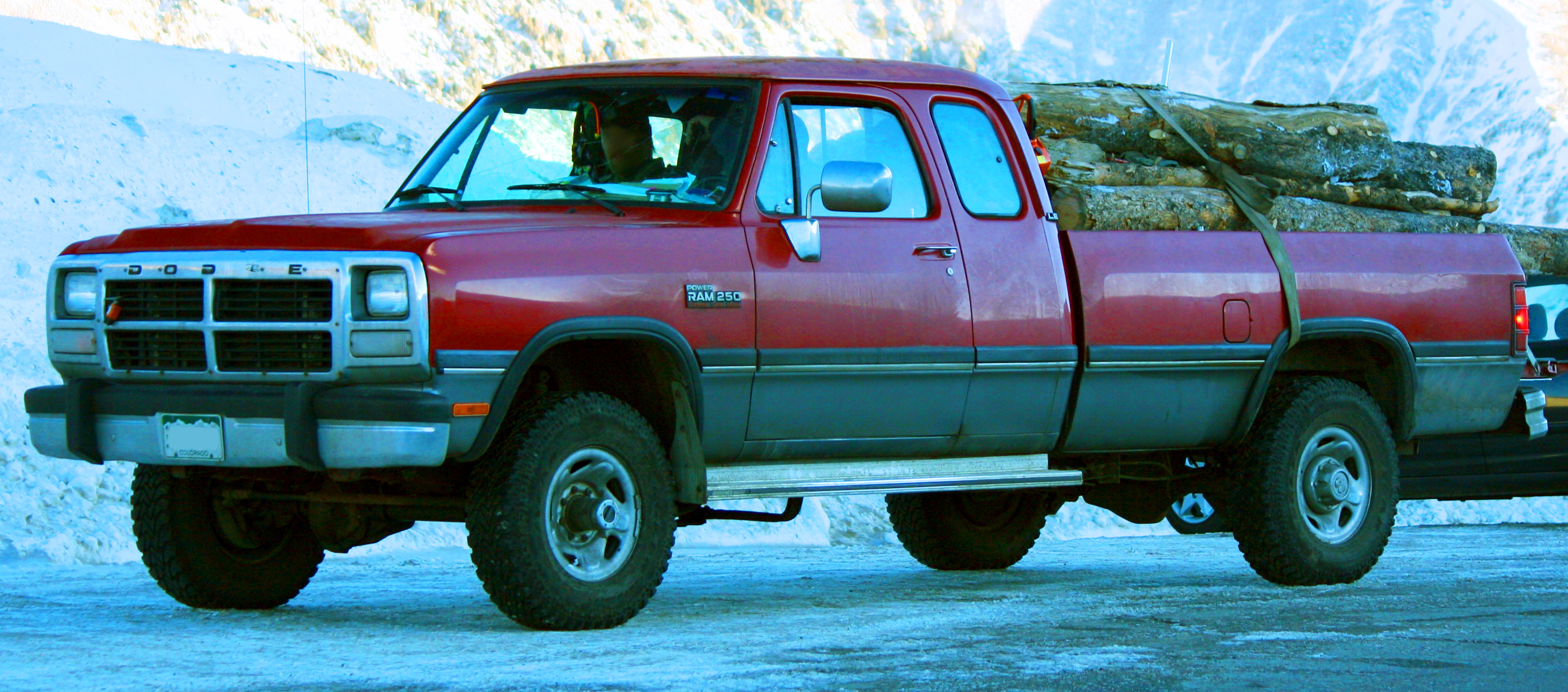 93 Dodge Cummins >> File 1991 93 Dodge Ram 250 Club Cab Cummins Jpg Wikimedia