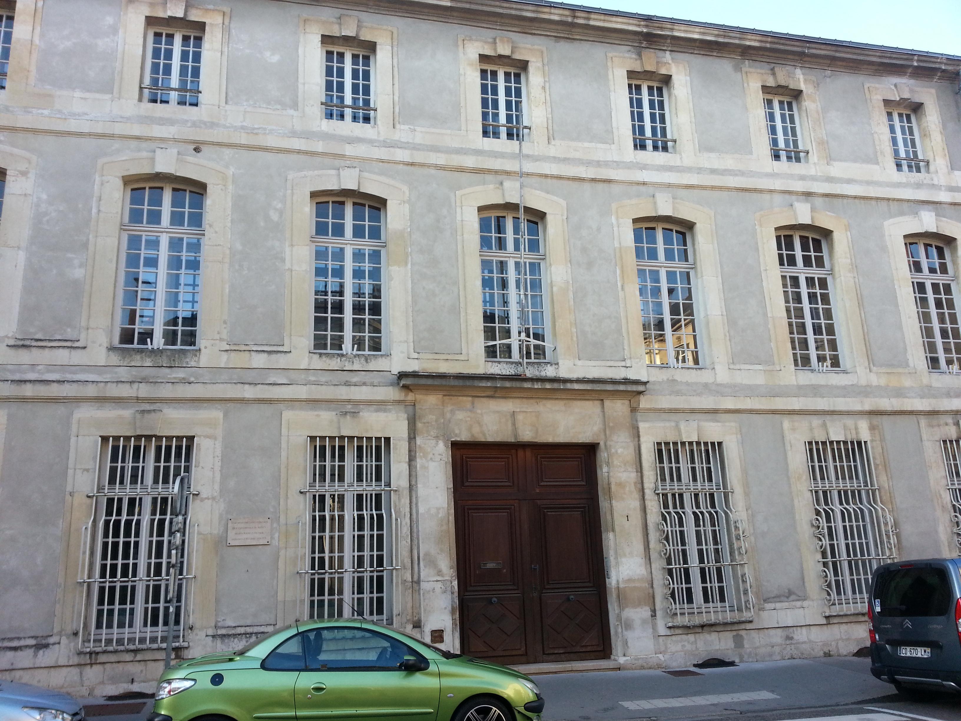Fichier 1 rue lyautey wikip dia for Rue catherine opalinska nancy