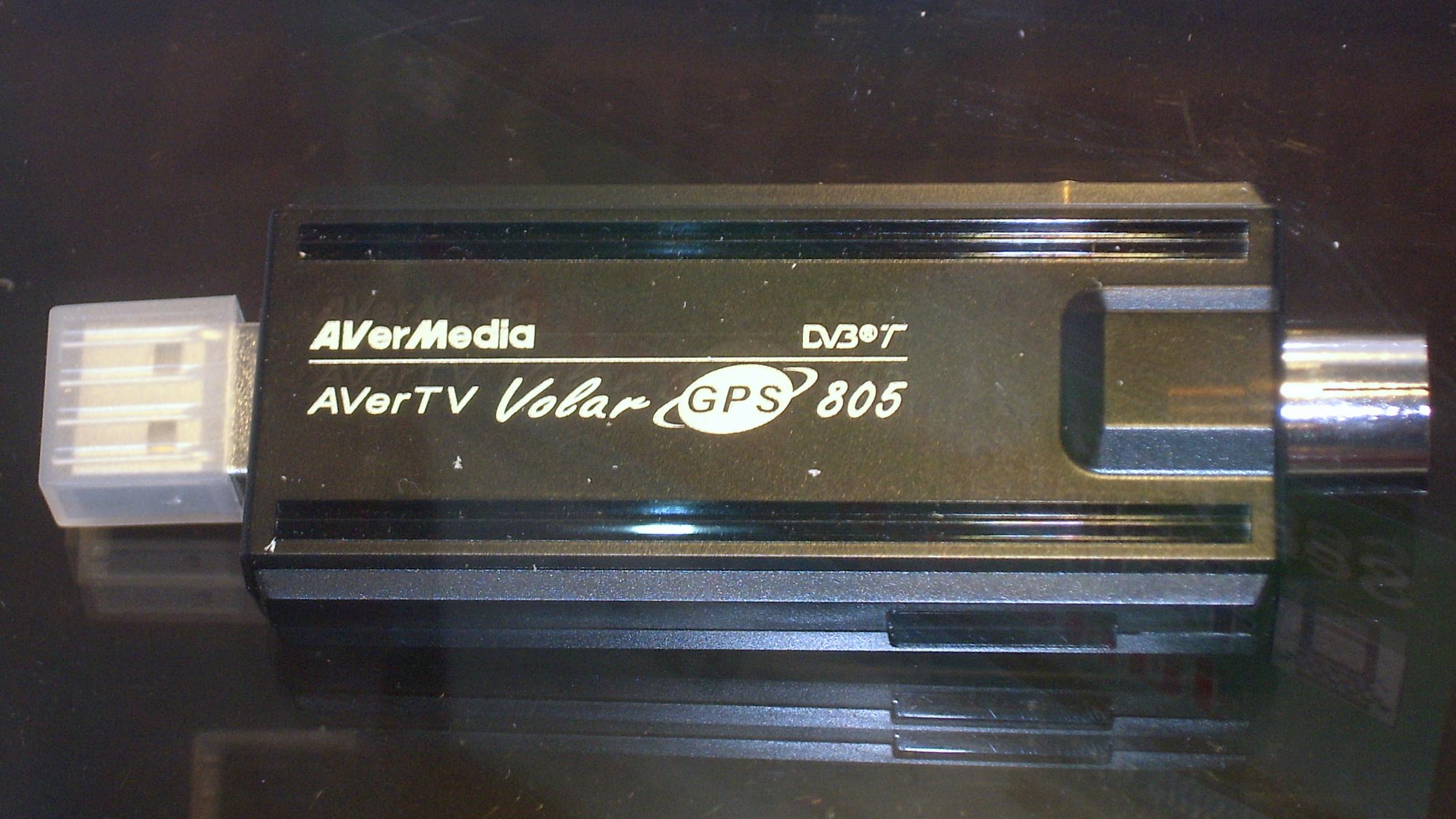 DRIVER: AVERMEDIA AVERTV VOLAR GPS 805