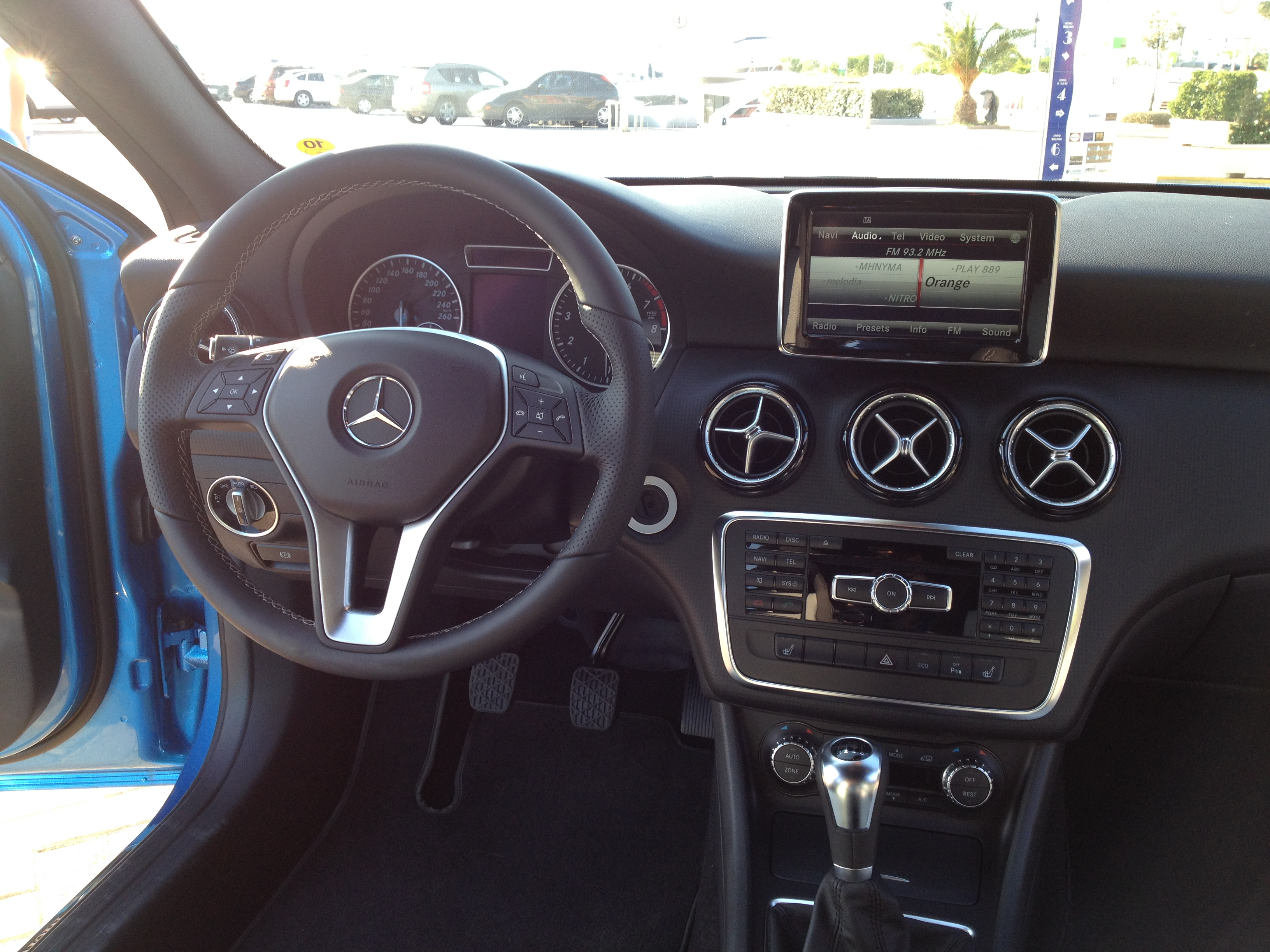 file 2012 blue mercedes a class w176 7661480672 jpg wikimedia commons. Black Bedroom Furniture Sets. Home Design Ideas