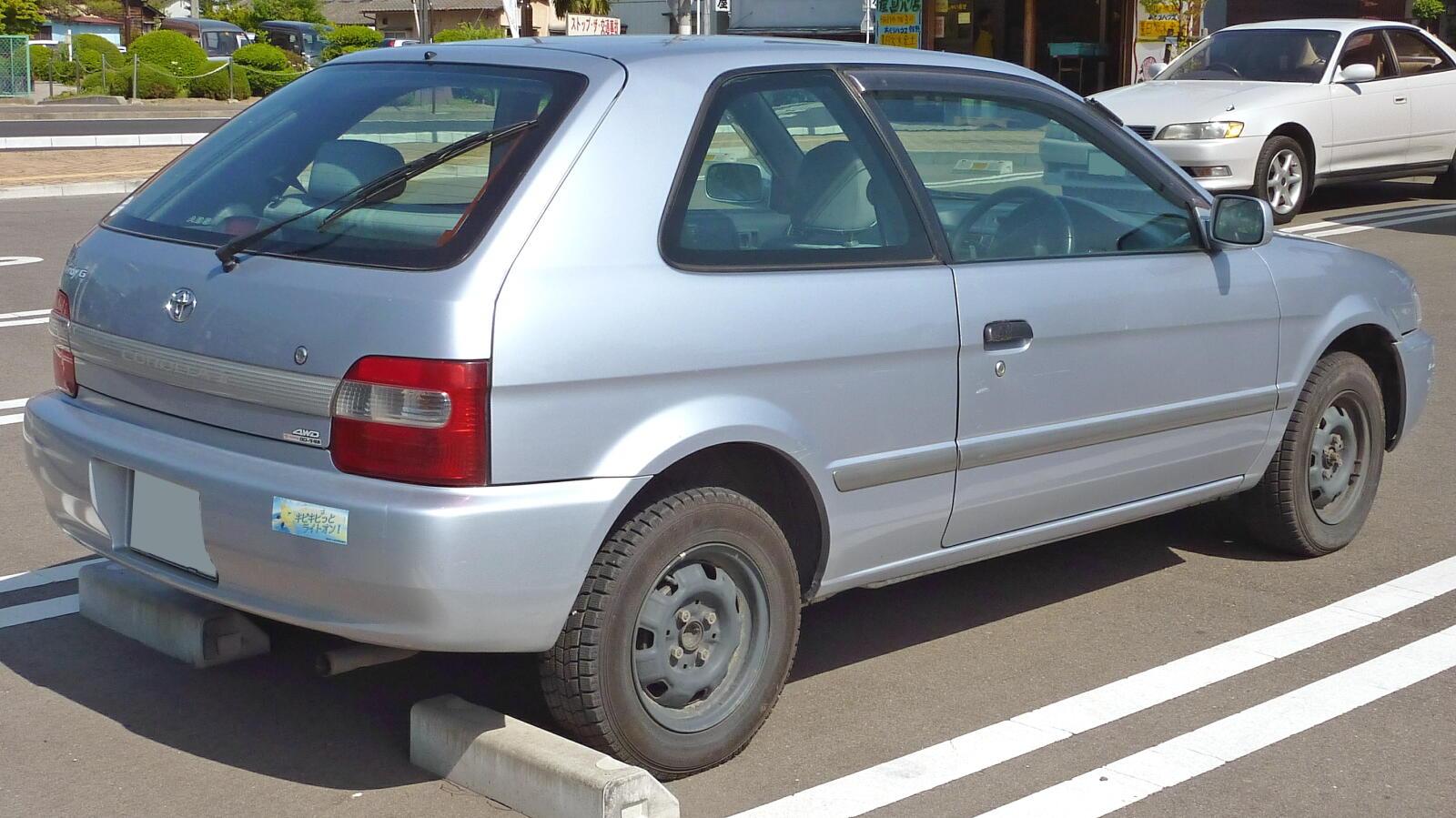 Toyota corsa hatchback 15 i 94 hp resimleri toyota corsa hatchback 15 i 94 hp 6 facelifted japanese market corolla ii 4wd hatchback publicscrutiny Gallery