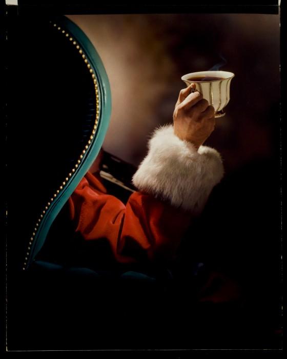 Santa Drinking Coffee File:a&p Coffee Santa Claus