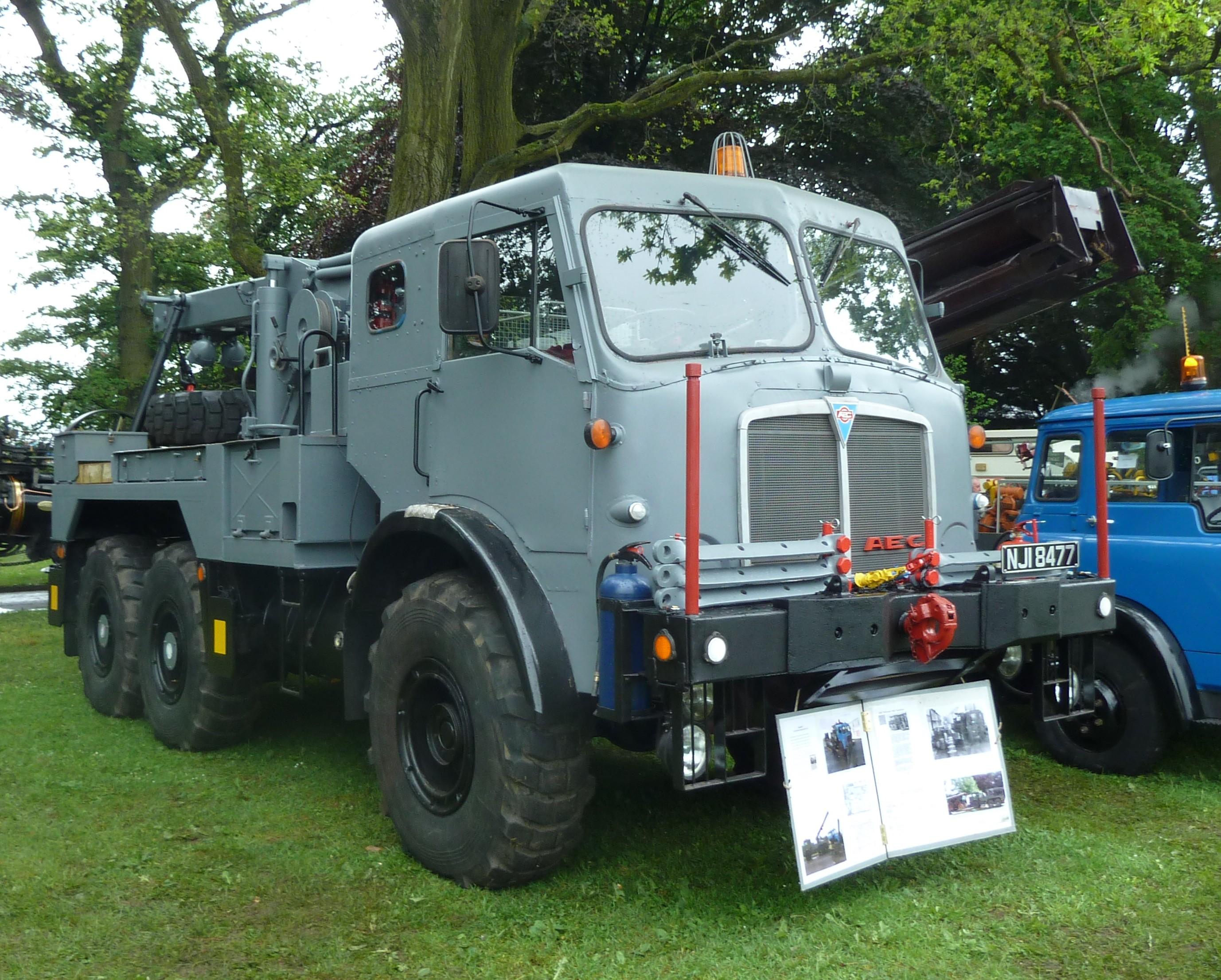 File:AEC Militant Mk 3, Abergavenny steam rally 2012.jpg ...