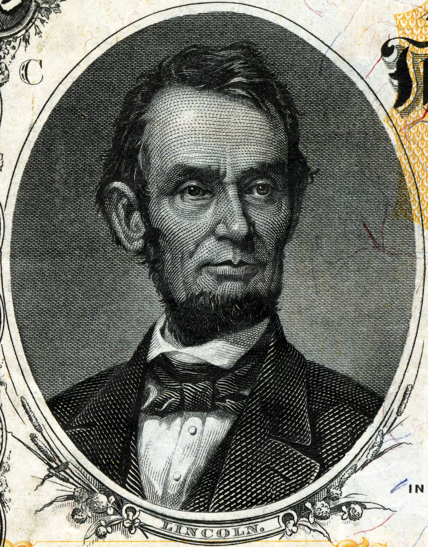 File Abraham Lincoln Engraved Portrait Jpg Wikimedia