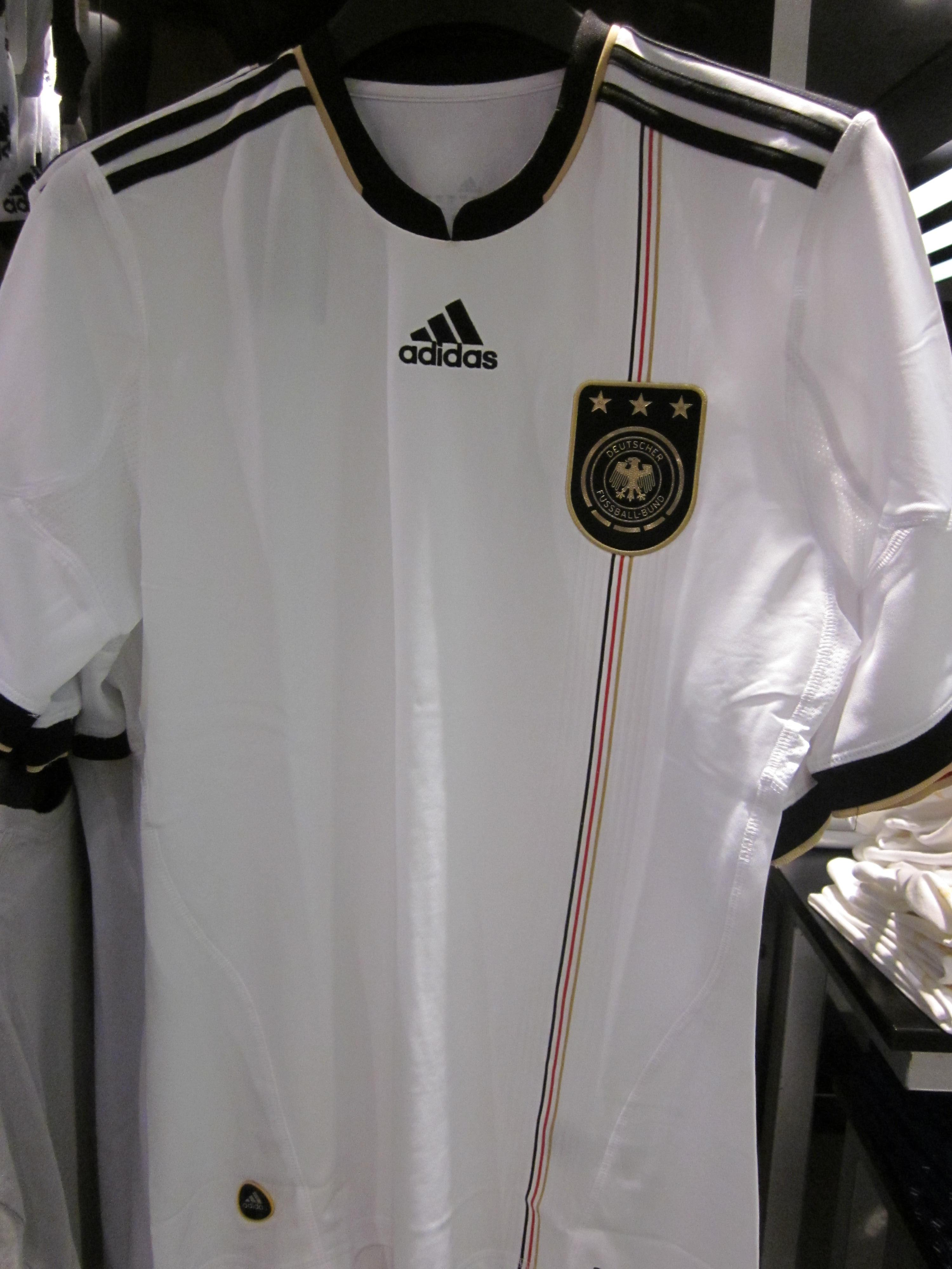 best authentic d8ebd dc8d4 File:Adidas Germany national football team home jersey.JPG ...