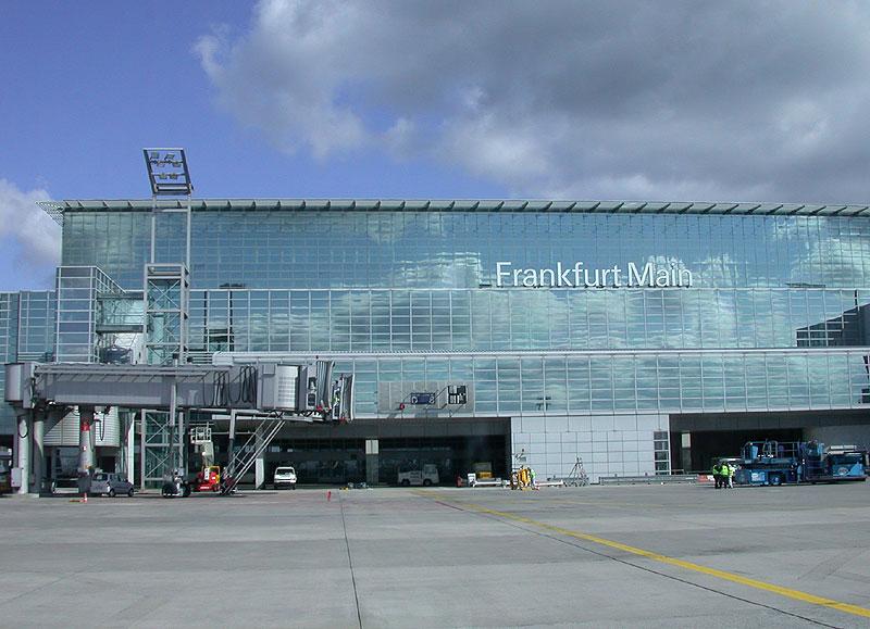 Terminal 2 Frankfurt Ryanair