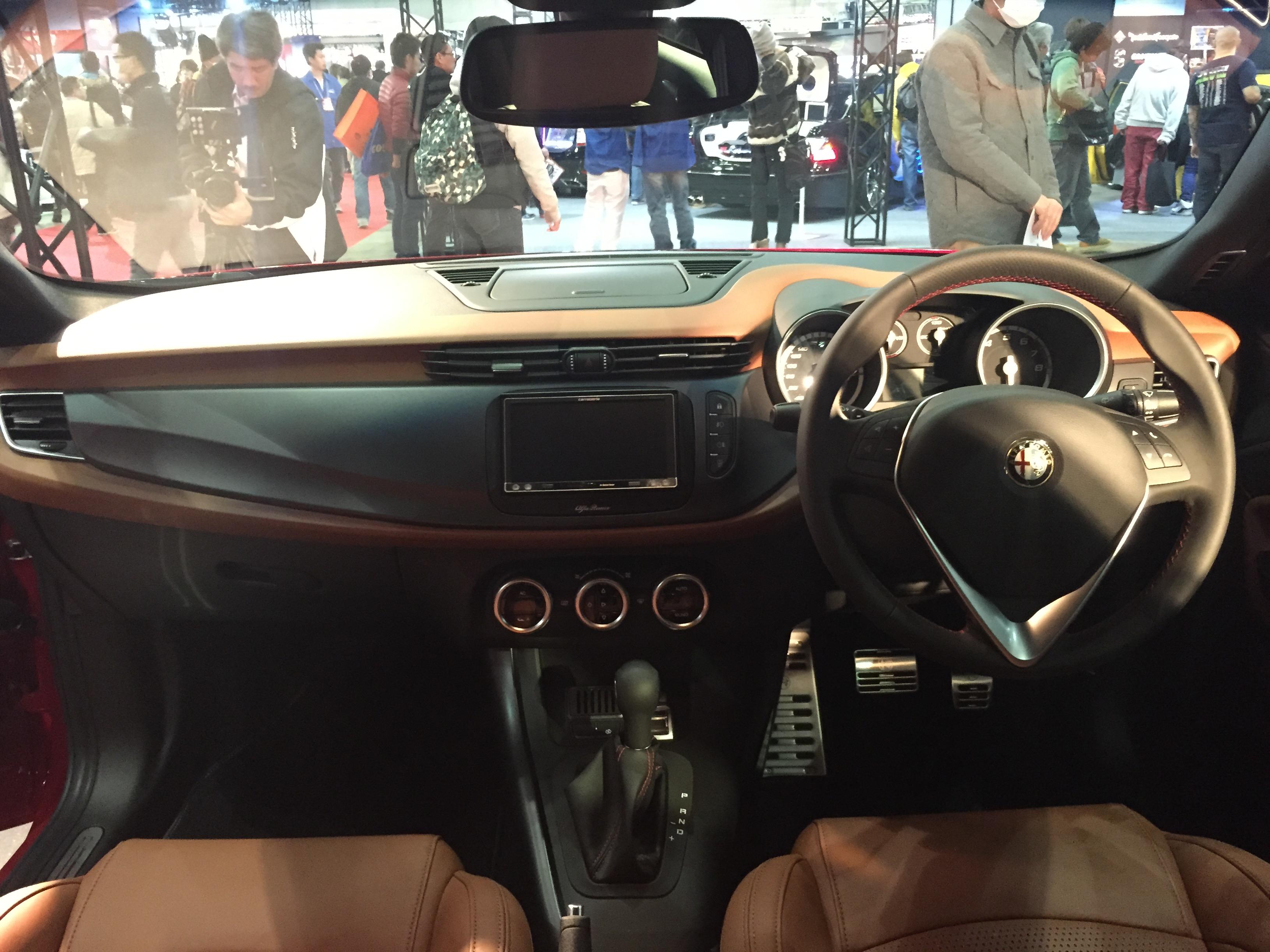 File:Alfa Romeo Giulietta interior - Tokyo Auto Salon 2015.jpg ...