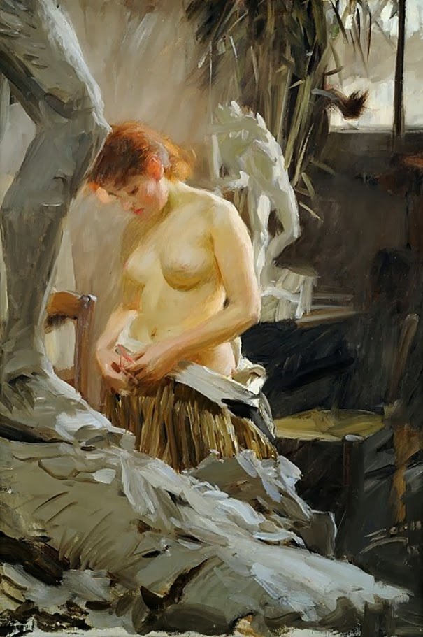 Anders Zorn - Le tub