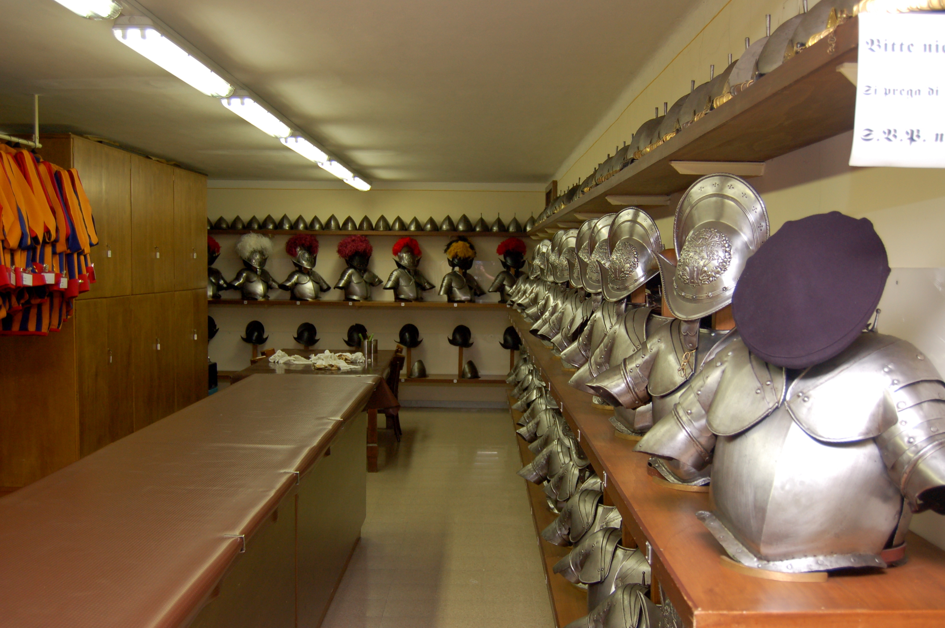 Armory of Swiss Guard