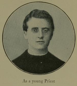 The young Ratti as a newly ordained priest As a Young Priest.JPG