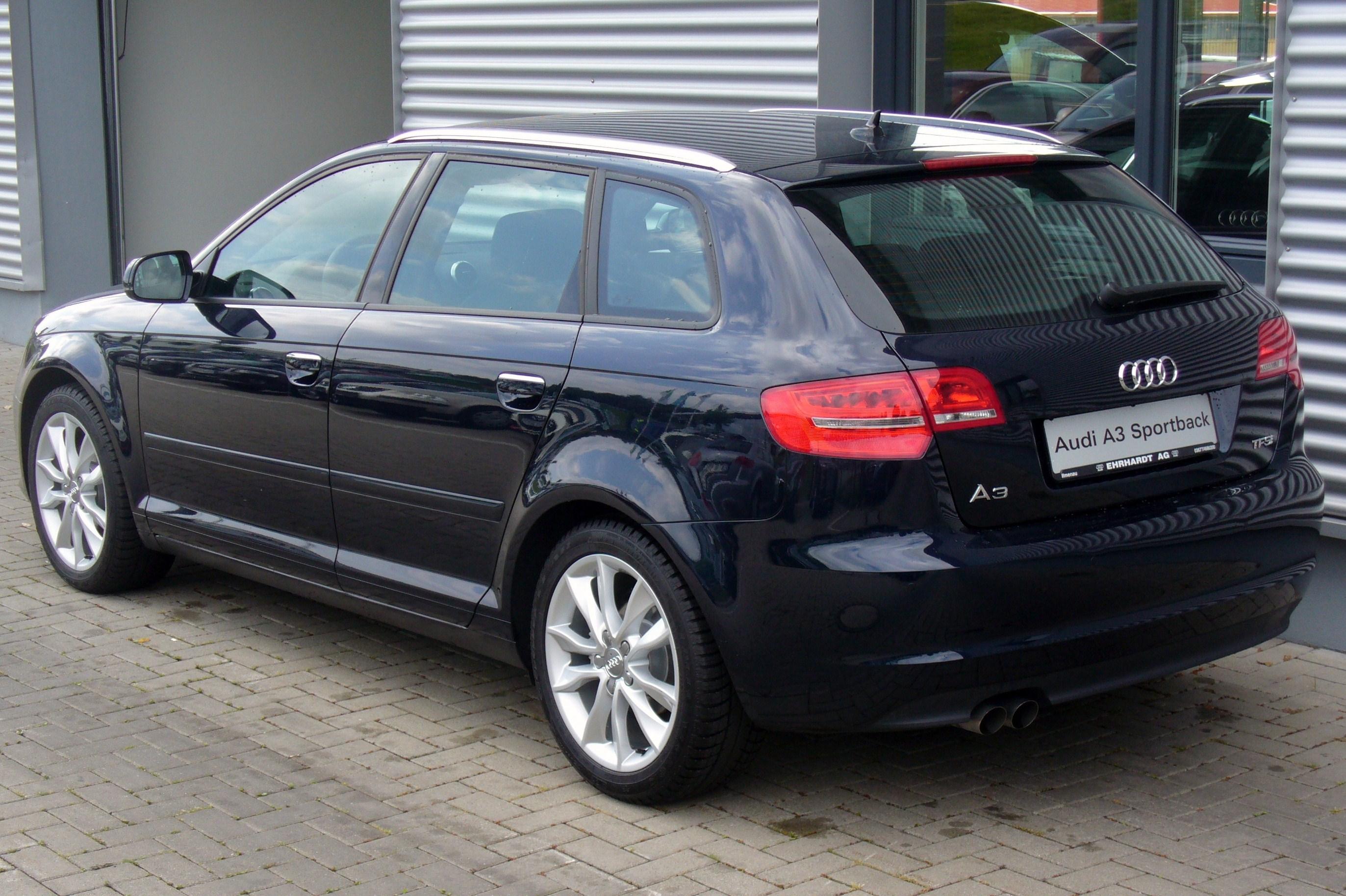 File Audi A3 Sportback Ambition 1 4 Tfsi S Tronic