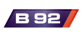 TV B92's third logo used from 21 April 2011 to 18 March 2012