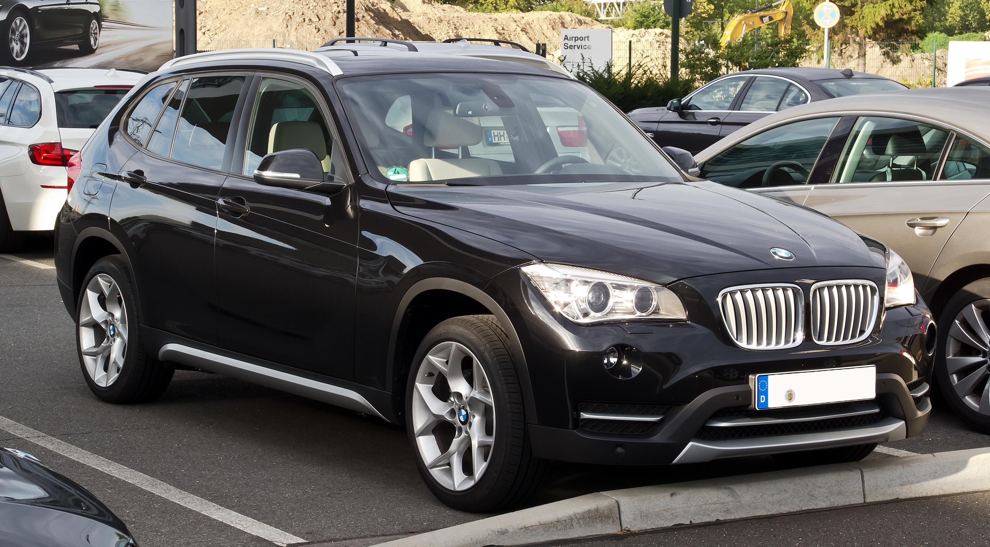 Beschreibung BMW X1 E84, Facelift – Frontansicht, 2. September
