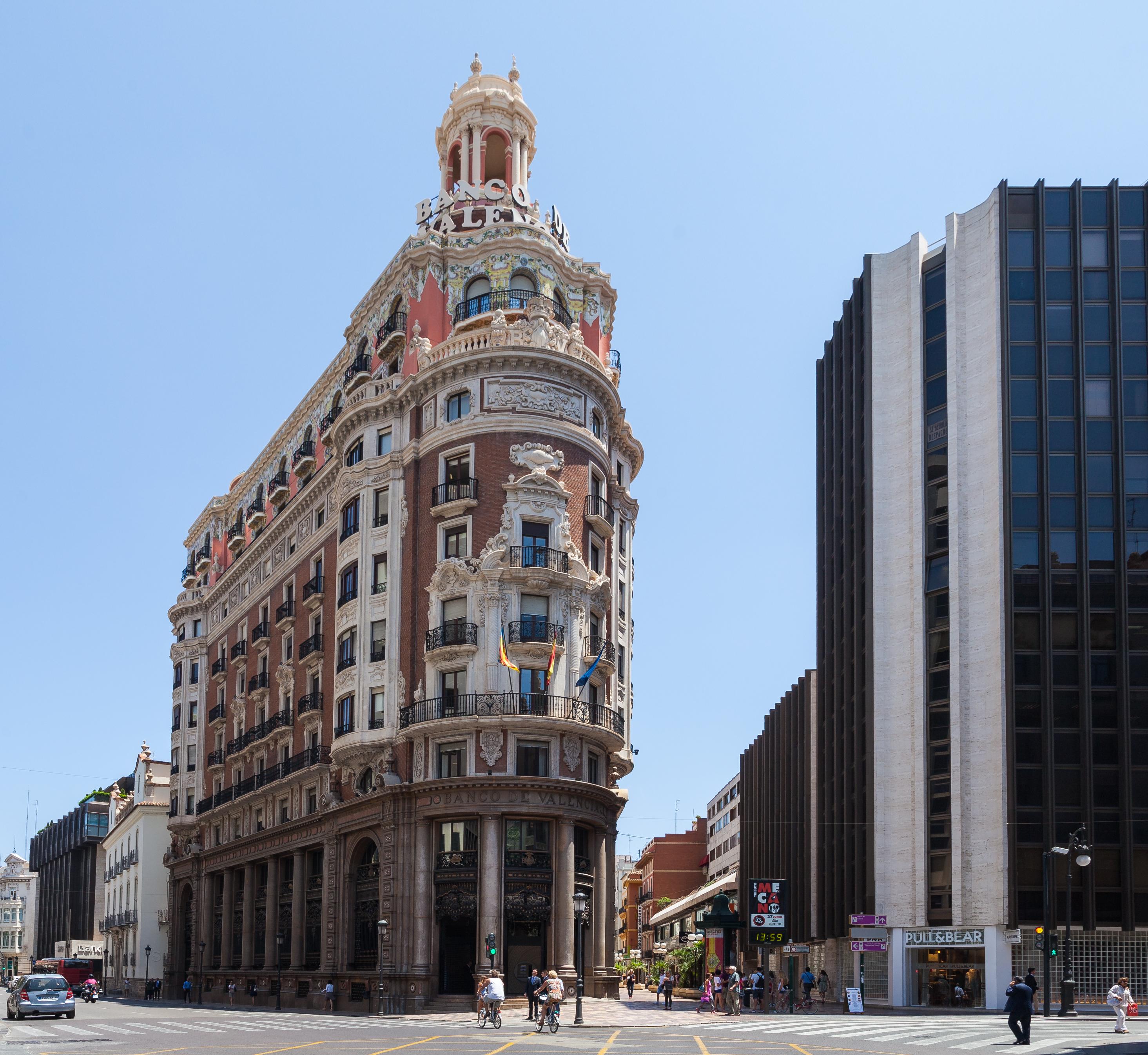 File banco de valencia valencia espa a 2014 06 30 dd for Oficinas de padron valencia