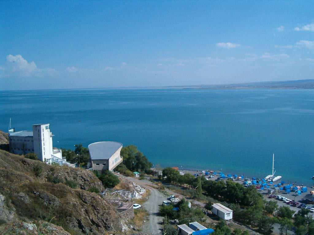 Blick über den Sewansee
