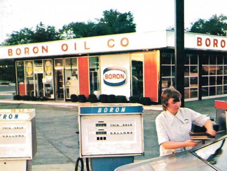 Boron Gasoline Station 1972