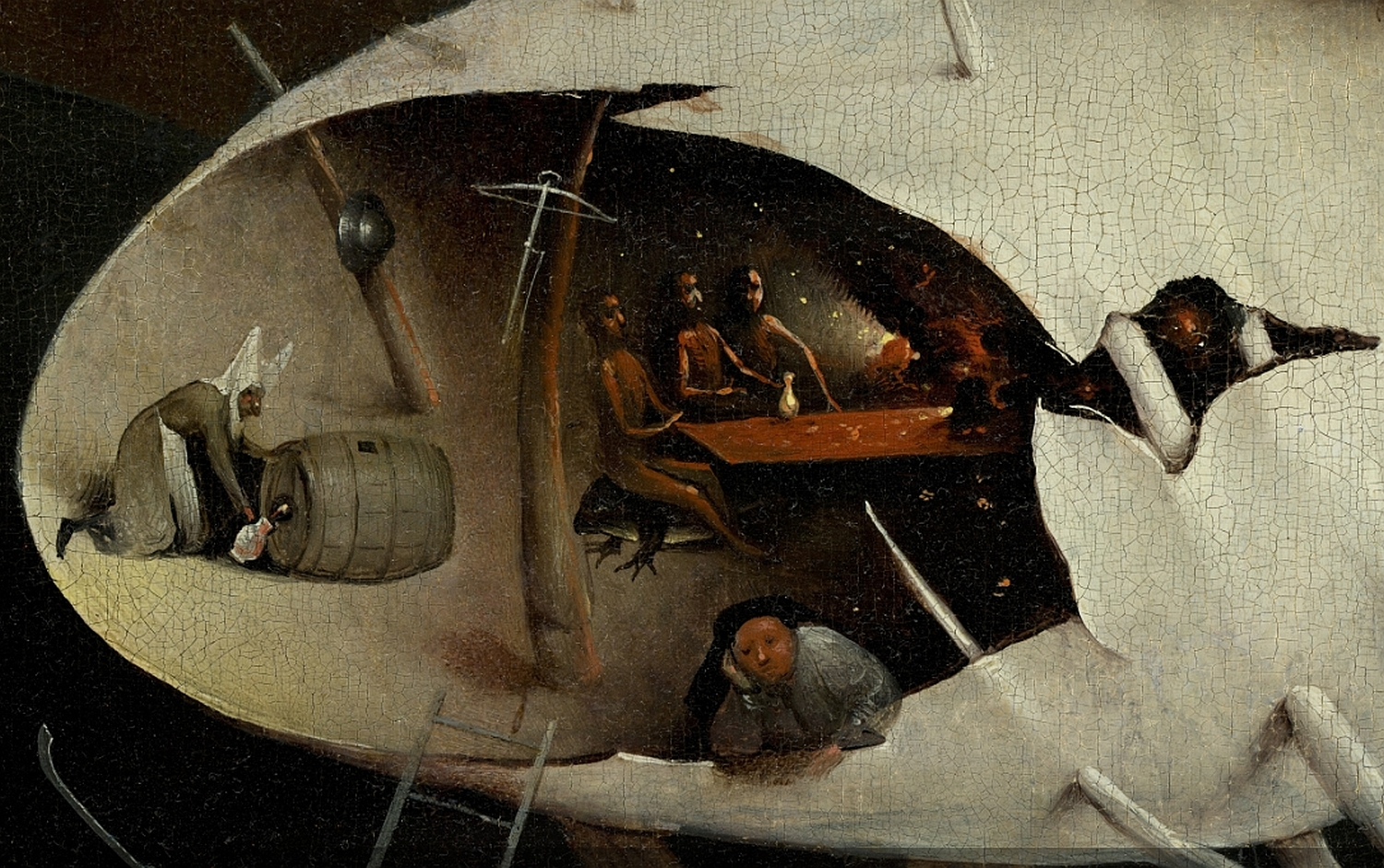 File:Bosch, Hieronymus - The Garden of Earthly Delights, right panel ...