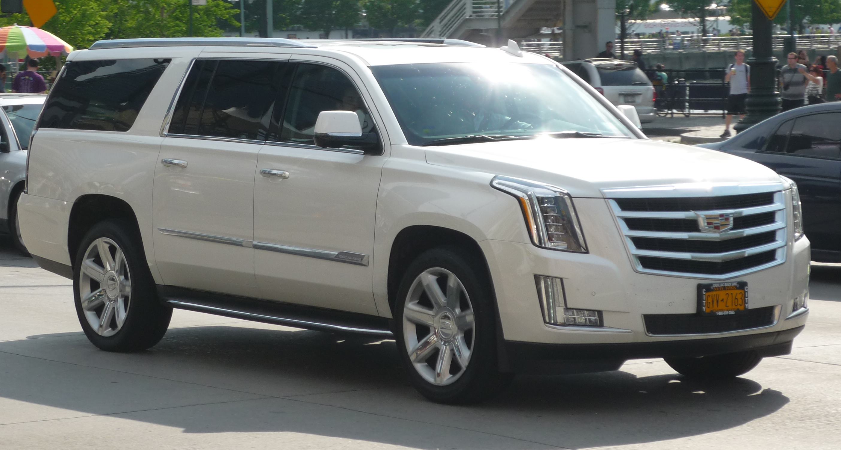 2018 cadillac suv price. unique cadillac 2016 escalade esv sporting the new cadillac crest intended 2018 cadillac suv price