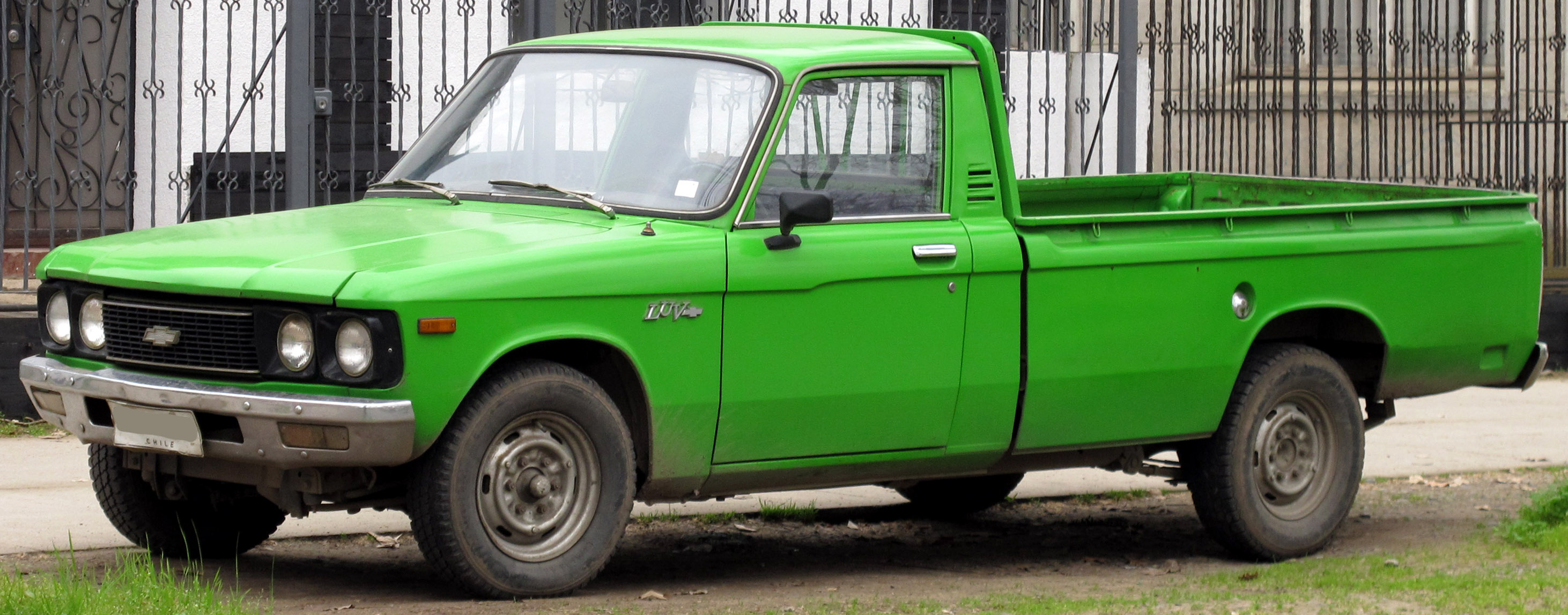 Chevrolet Luv 1600 1978 pickup truck from wiki commons
