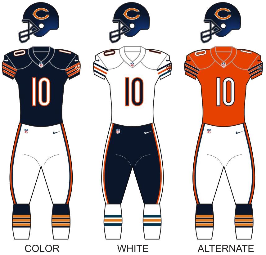 chicago bears cat jersey