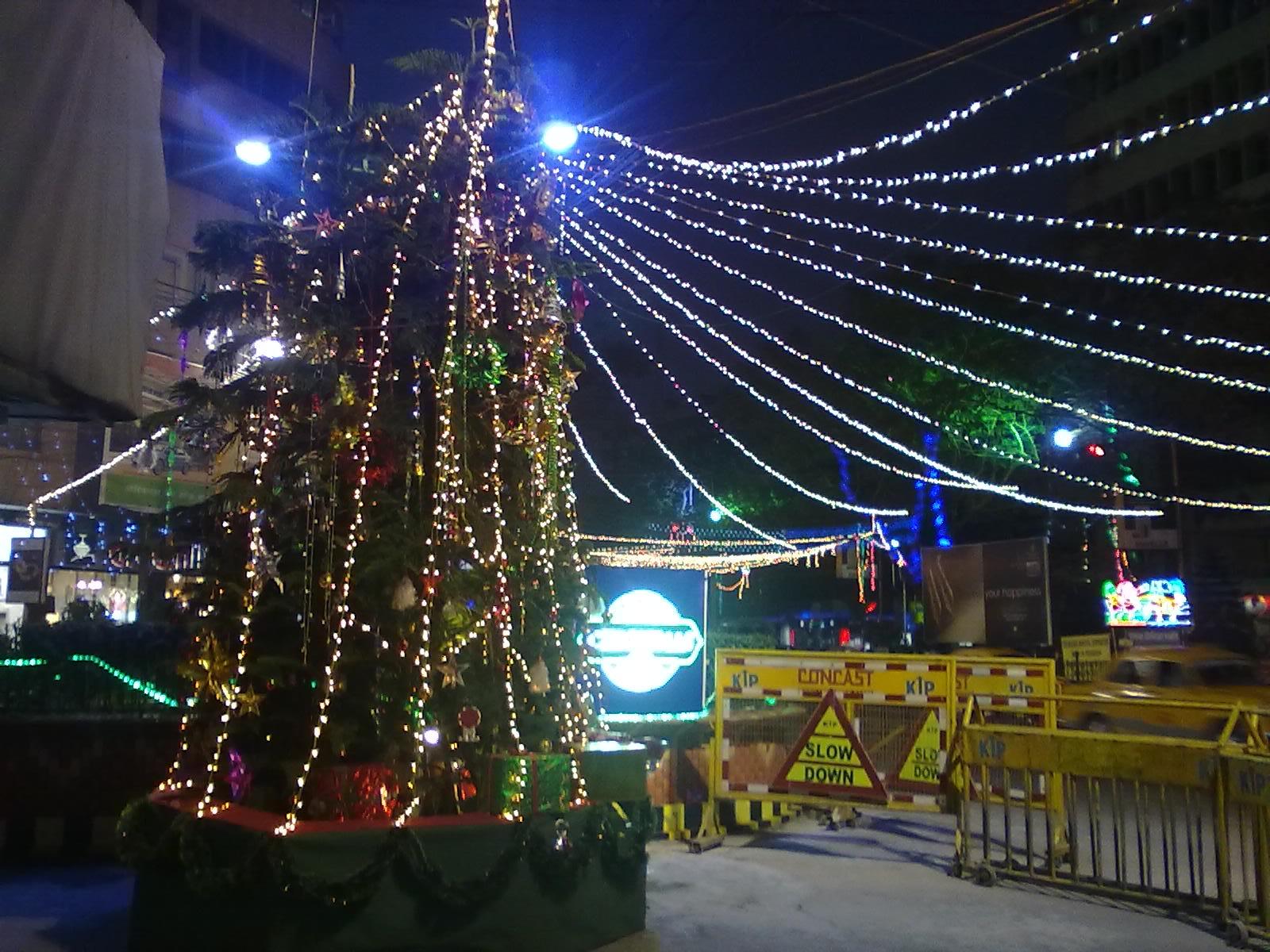 Park Street Kolkata During Christmas.File Christmas Lights Park Street Kolkata 8 Jpg Wikimedia