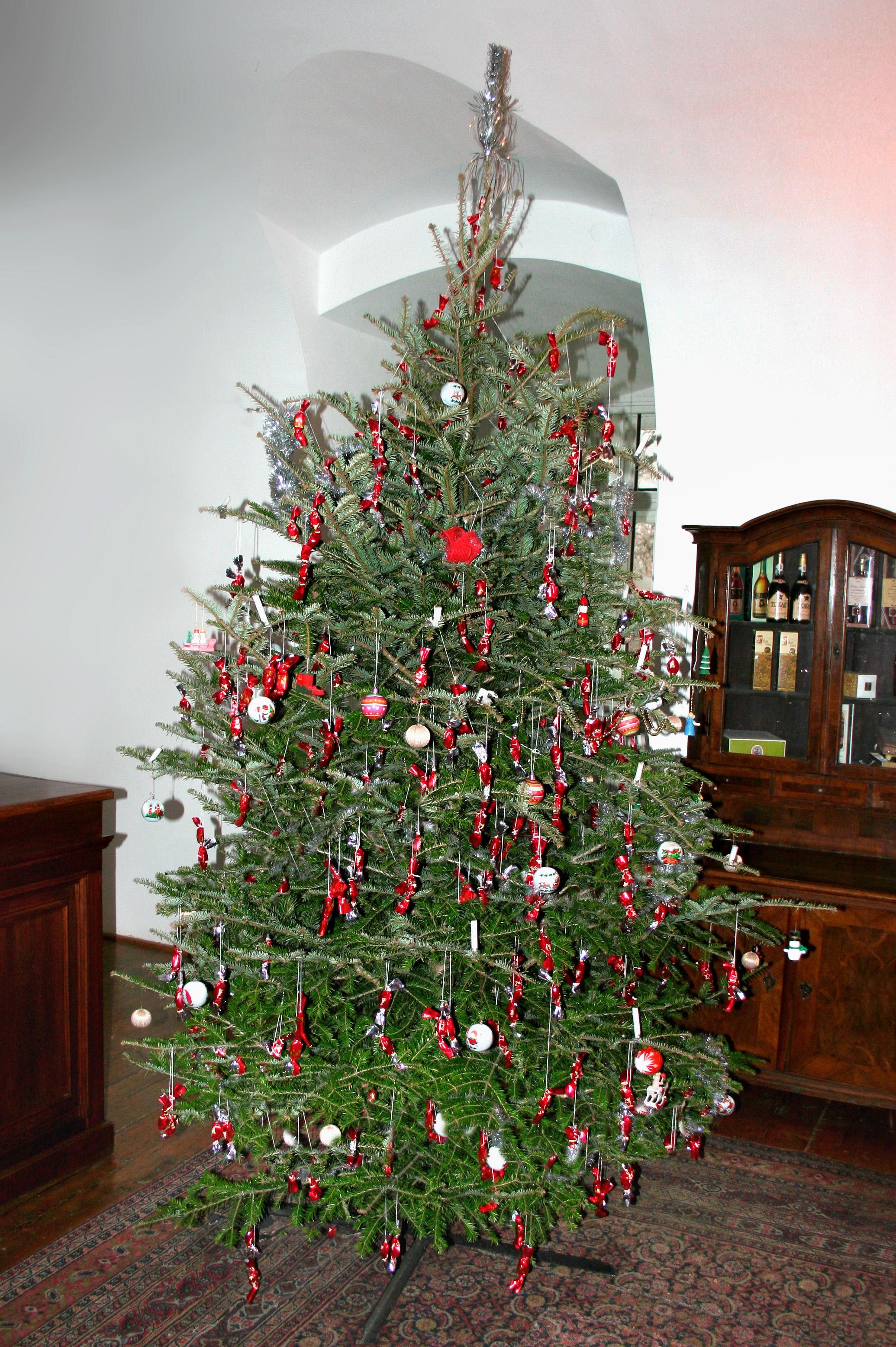 Classic Vintage Hungarian Chrismast Tree