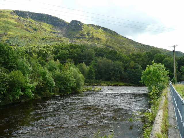 Confluence of the Twrch with the Tawe - geograph.org.uk - 914166