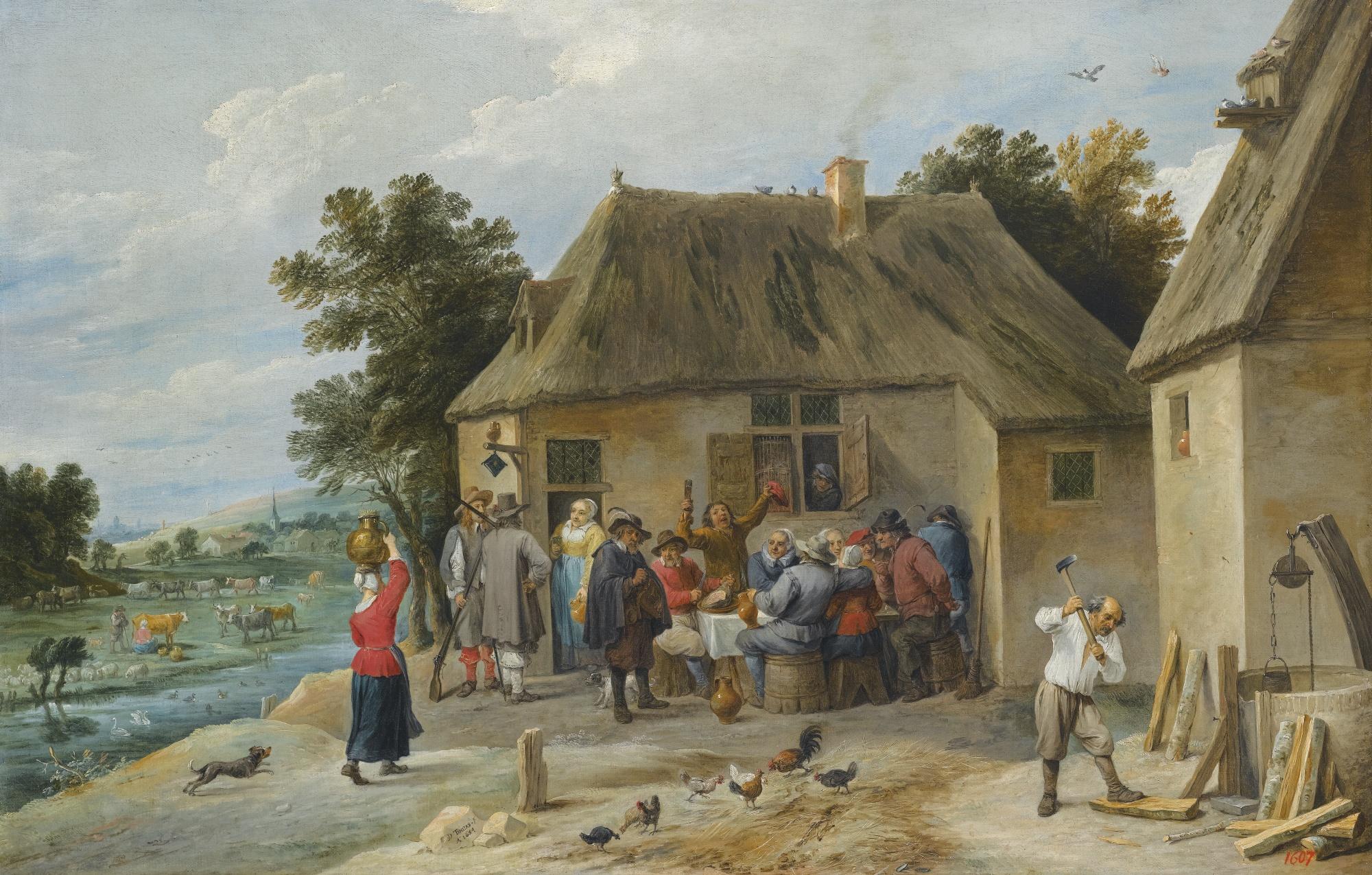 File:David Teniers II Countryside Inn 1654.jpg - Wikimedia Commons
