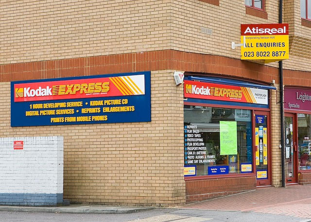 File:Disappearing Kodak Express shop, Winchester Road, Chandler's
