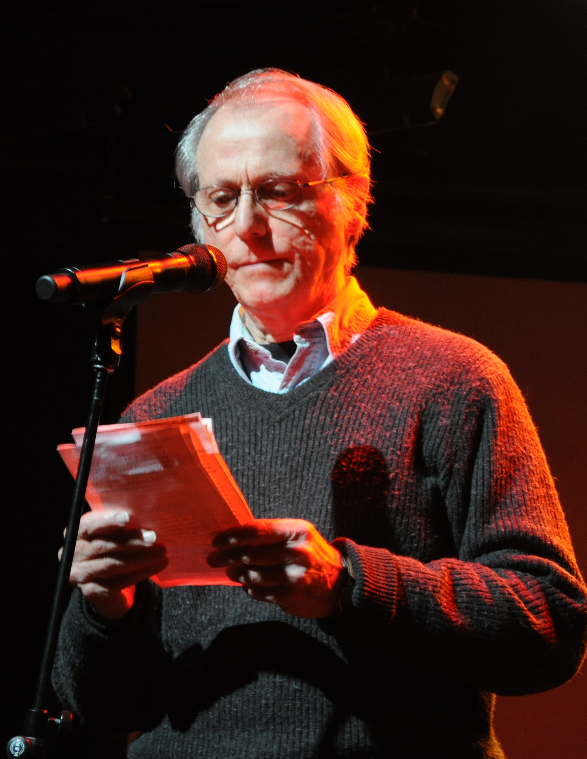 DeLillo in New York City, 2011