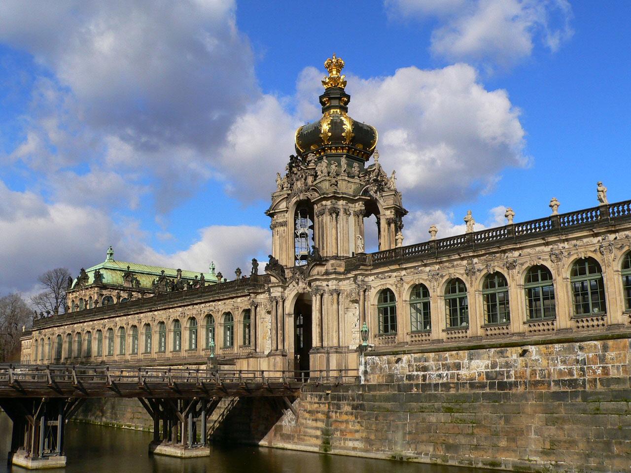 Das Kronentor des Zwingers Dresden
