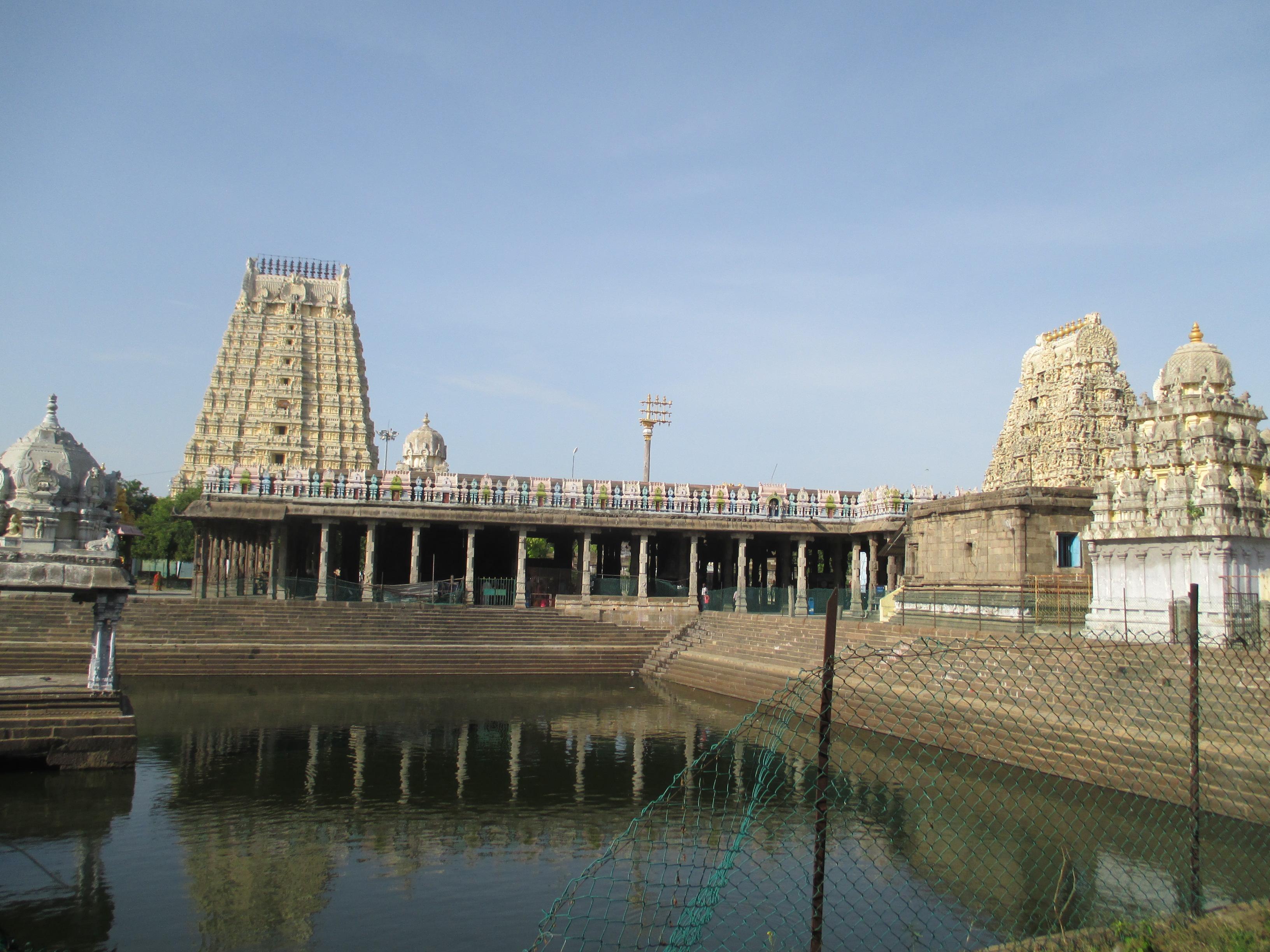 Varadharaja Perumal temple at Kanchipuram near Chennai