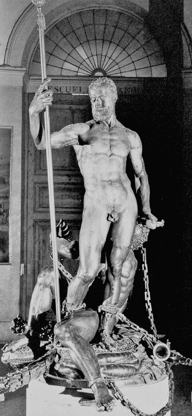 Emperor Charles Conquers Furor %28Leone Leoni%29 - La escultura de Carlos V y el furor: una extraordinaria alegoría imperial