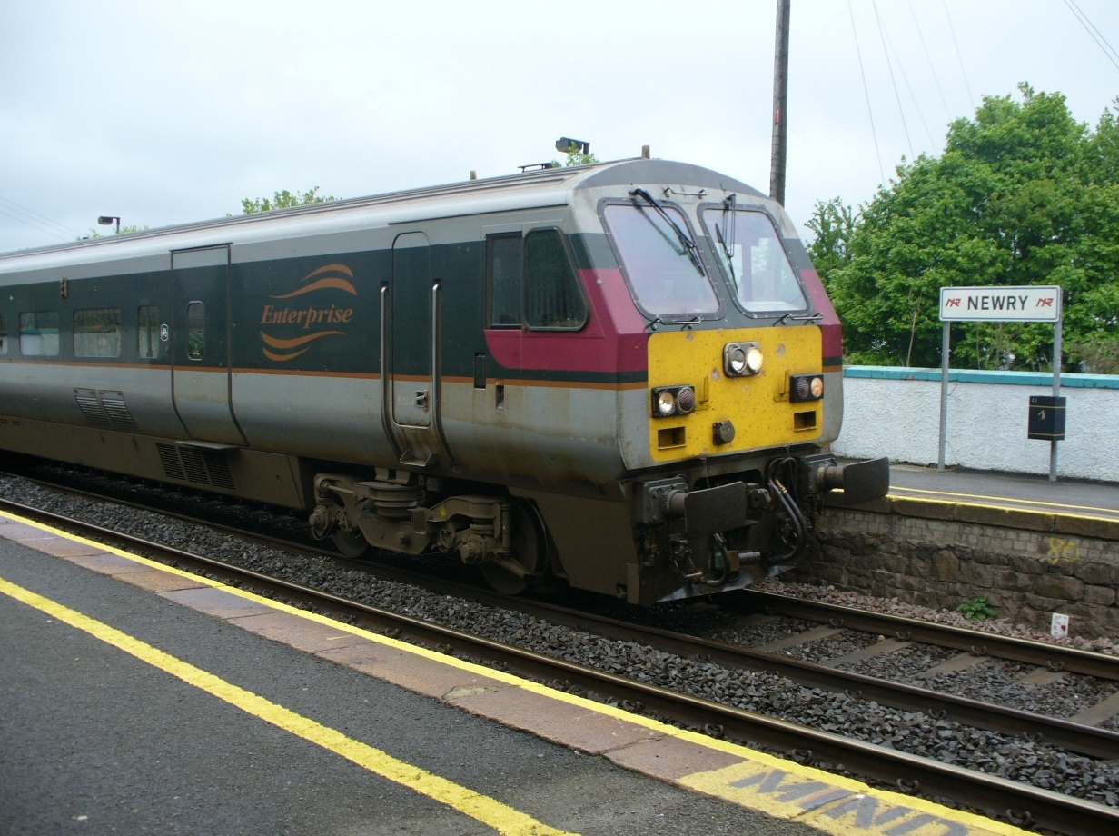 File:Enterprise train Newry.JPG - Wikimedia Commons: https://commons.wikimedia.org/wiki/File:Enterprise_train_Newry.JPG