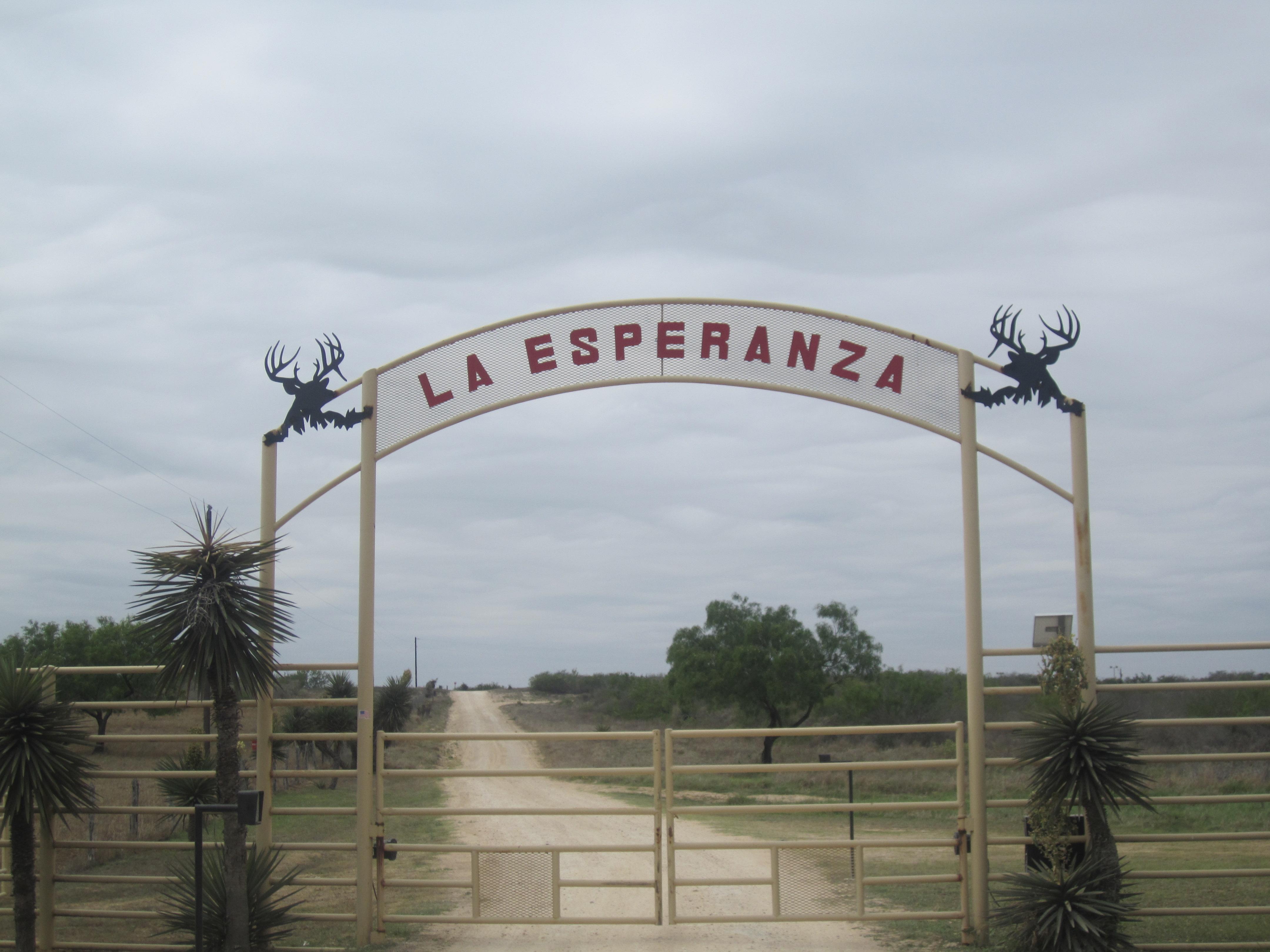 File Entrance To La Esperanza Ranch Webb County Tx Img