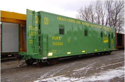 Usda Federal Grain Inspection Service Scale Test Car
