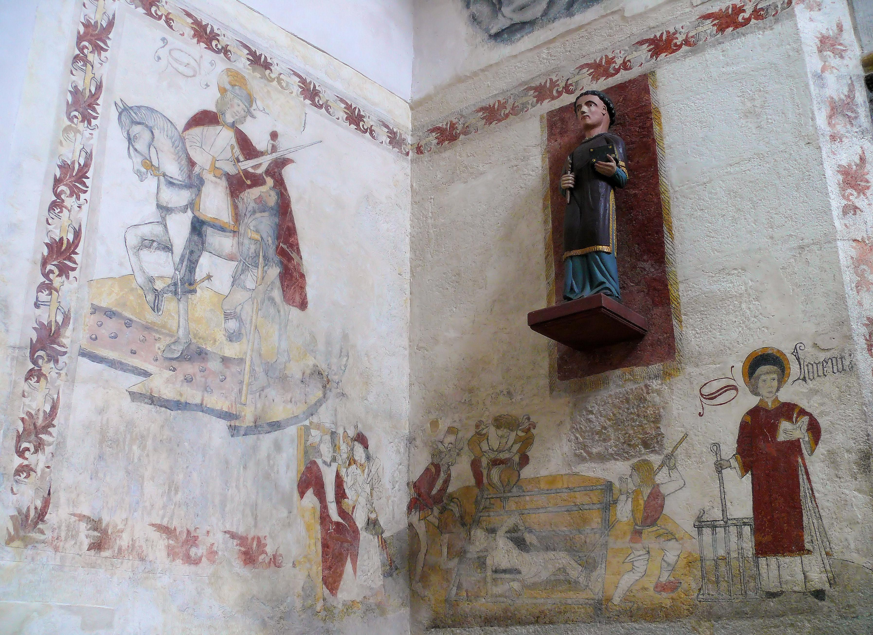 Fichier felletin glise sainte val rie nef peintures for Les differents types de peintures murales