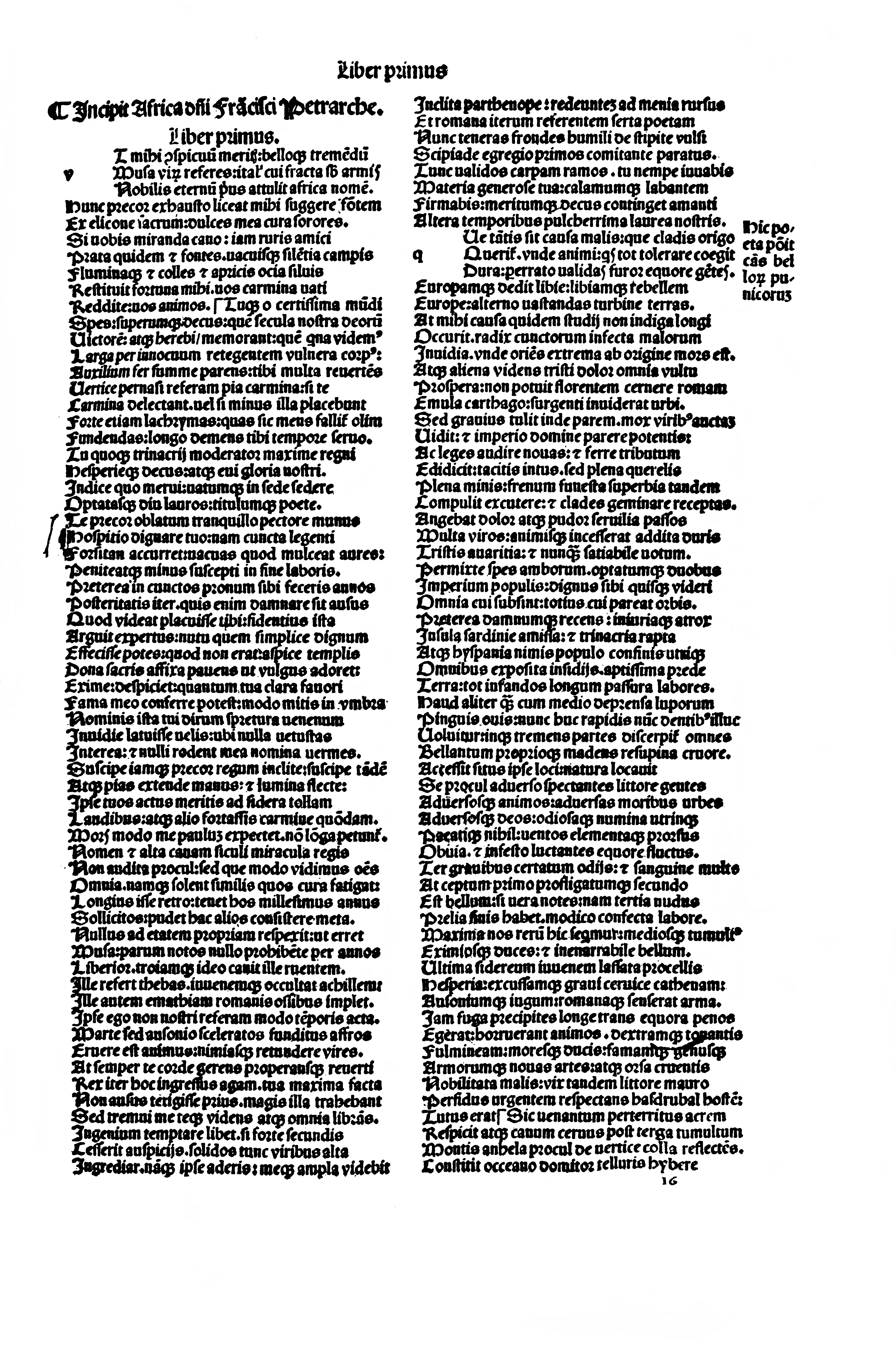 graphic relating to 30 Days Has September Poem Printable titled Africa (Petrarch) - Wikipedia
