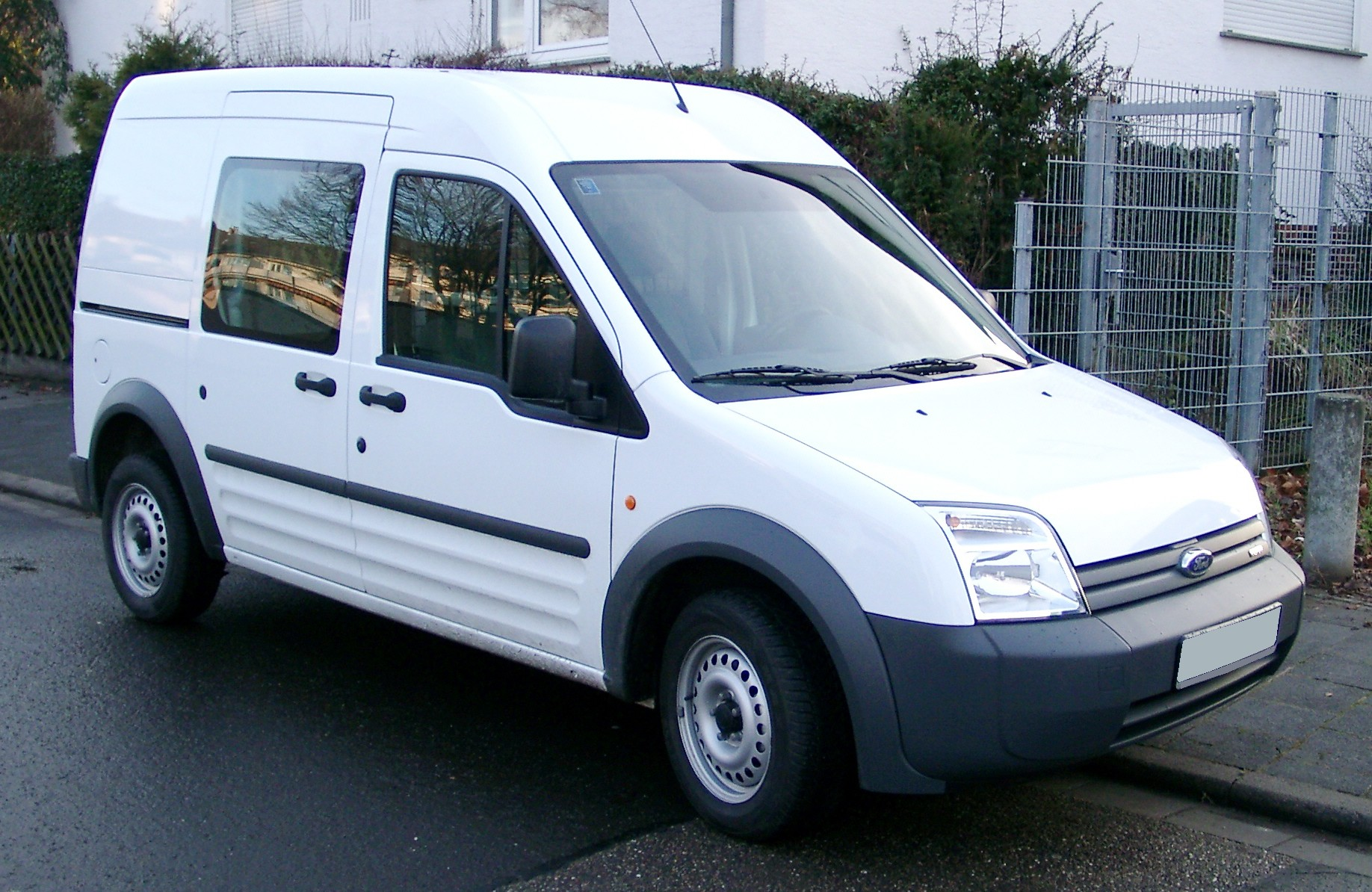 File Ford Transit Connect Rear 20080110 Jpg Wikimedia Commons
